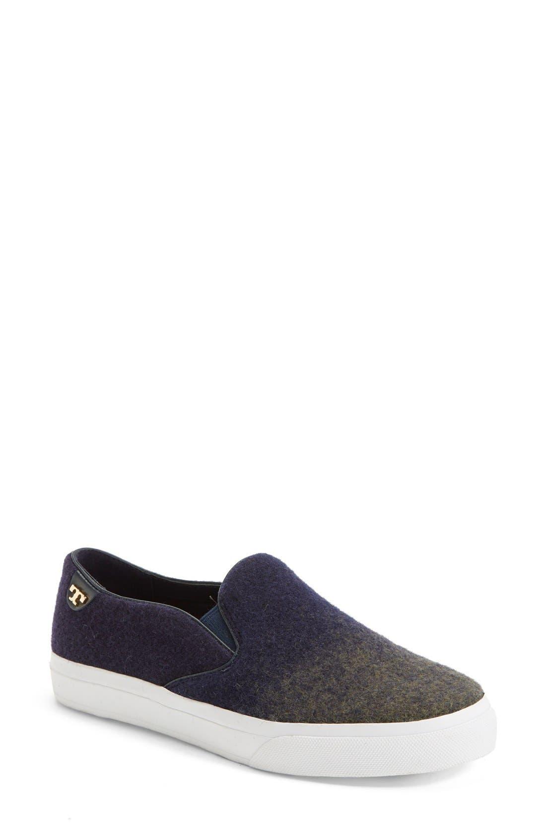 Alternate Image 1 Selected - Tory Burch 'Stardust' Slip-On Sneaker (Women)