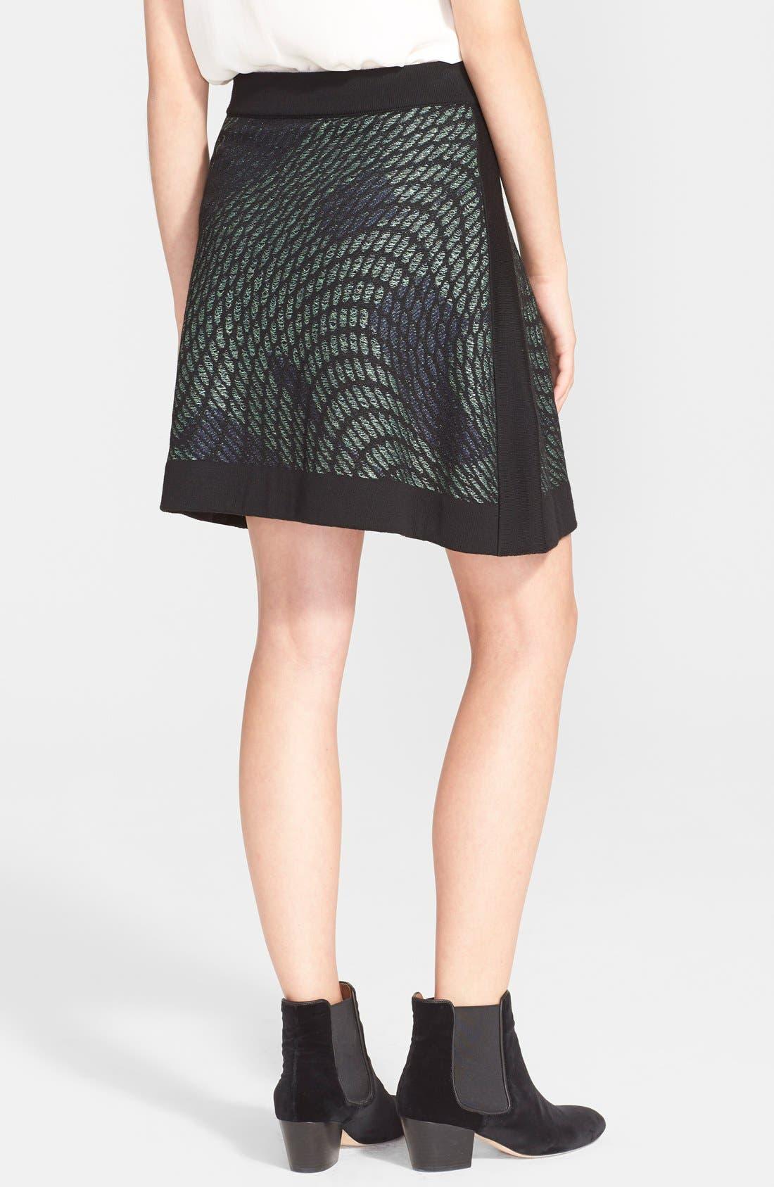 Alternate Image 2  - M Missoni Graphic Knit Skirt
