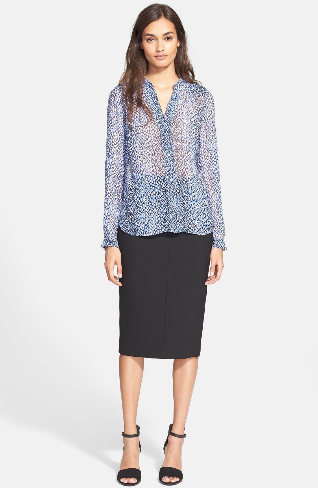 Alternate Image 6  - Diane von Furstenberg 'Samara' Pencil Skirt