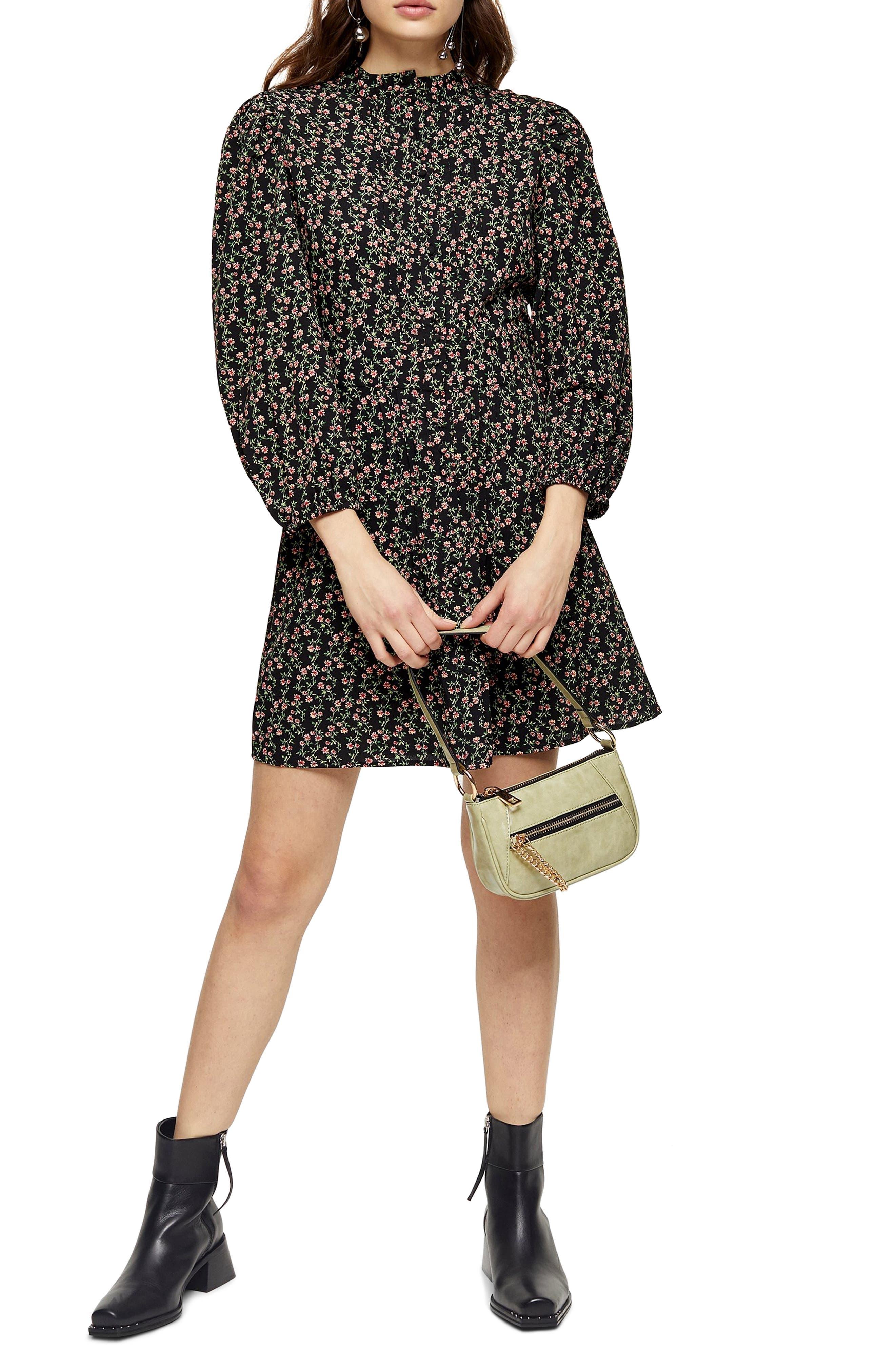 ex-Topshop Check V-Neck Mini-Plaid Dress Sleeveless Summer Branded Sizes 6 to 14