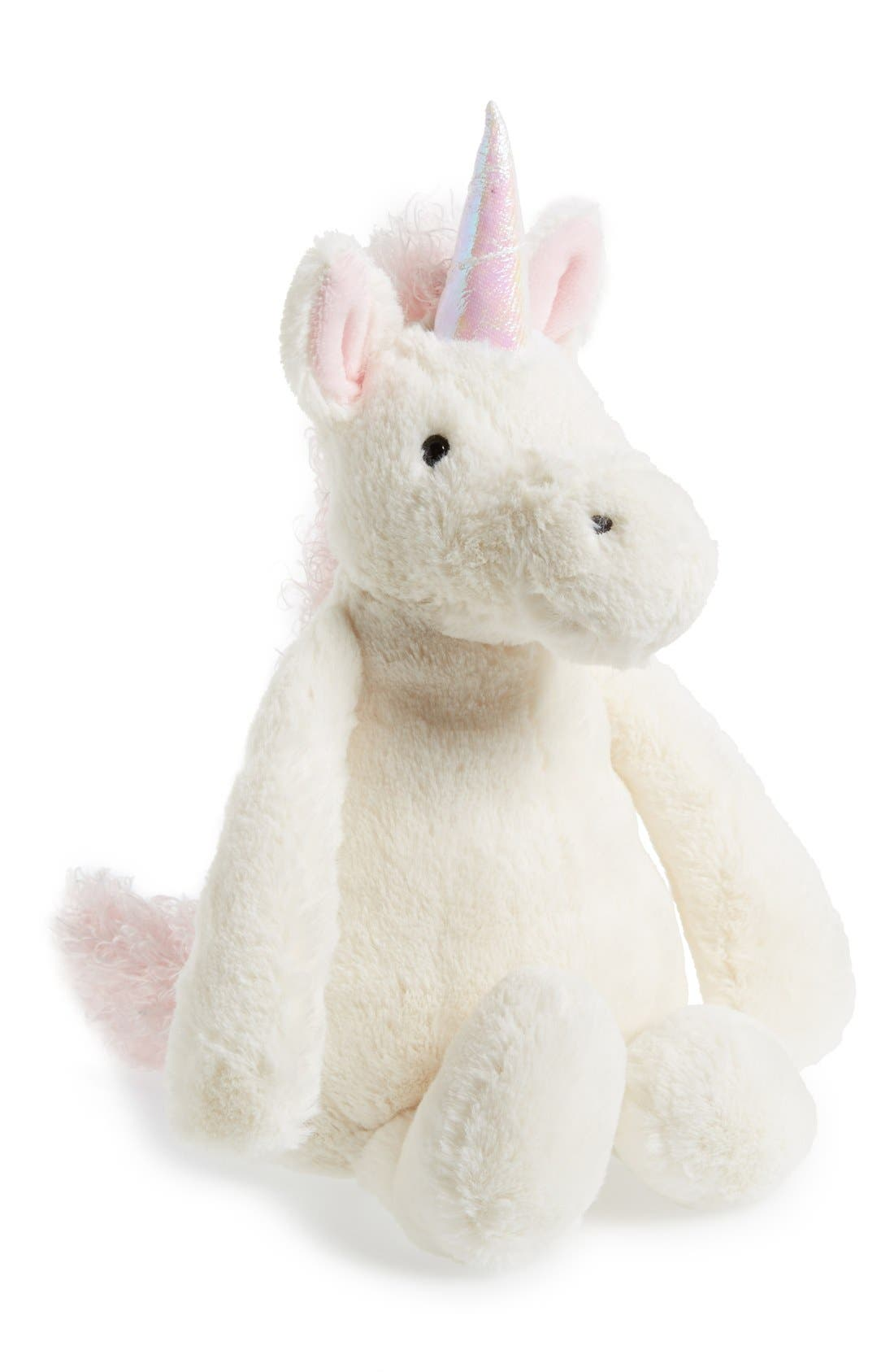 Alternate Image 1 Selected - Jellycat 'Bashful Unicorn' Stuffed Animal