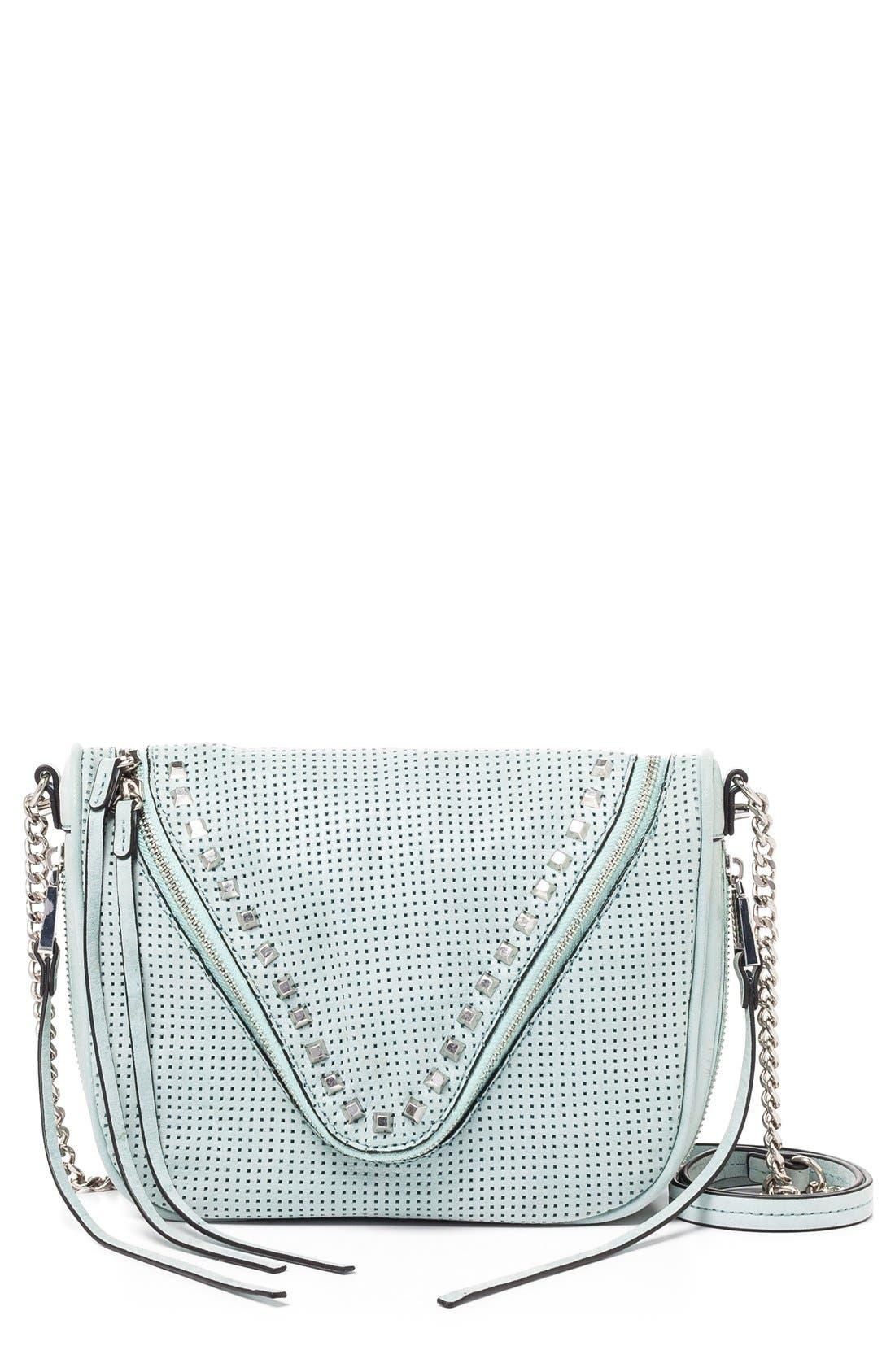 Main Image - She + Lo 'Make Your Mark' Leather Crossbody Bag