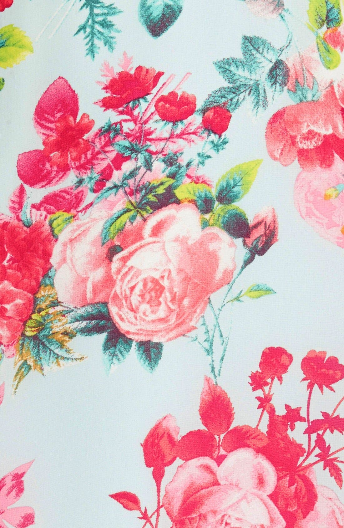 Alternate Image 3  - Floral Print Swing Dress