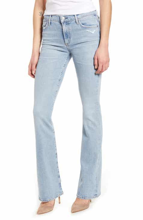 Citizens of Humanity Emannuelle Slim Leg Bootcut Jeans (Imagine)