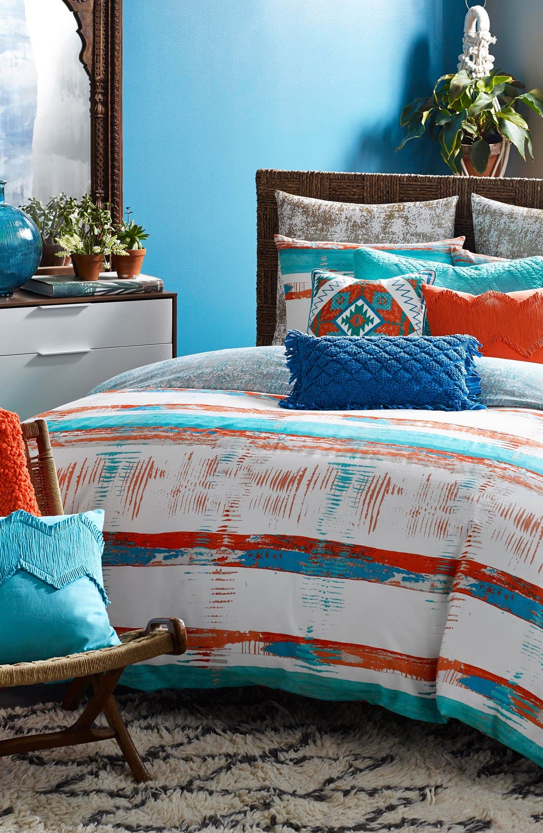 Blissliving Home Siesta Duvet Cover U0026 Sham Set