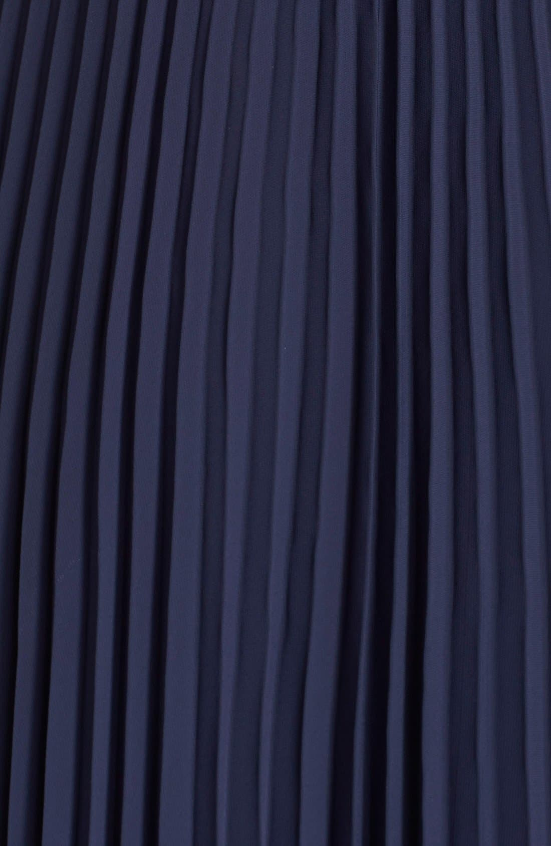 Alternate Image 3  - Xscape Pleat Cutaway Blouson Dress