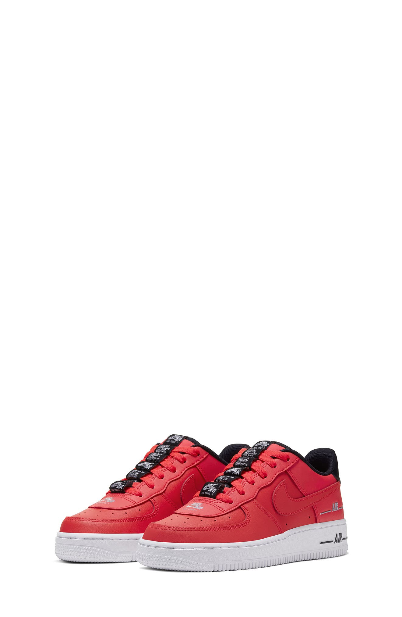 Girls' Red Sneakers, Tennis Shoes