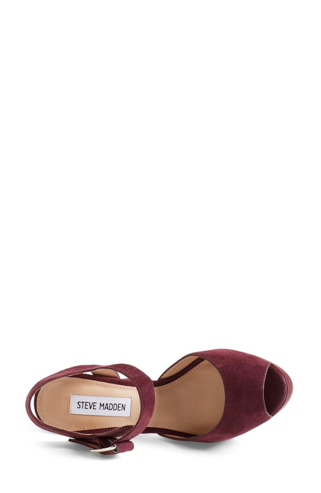 Alternate Image 3  - Steve Madden 'Jillyy' Platform Sandal (Women)