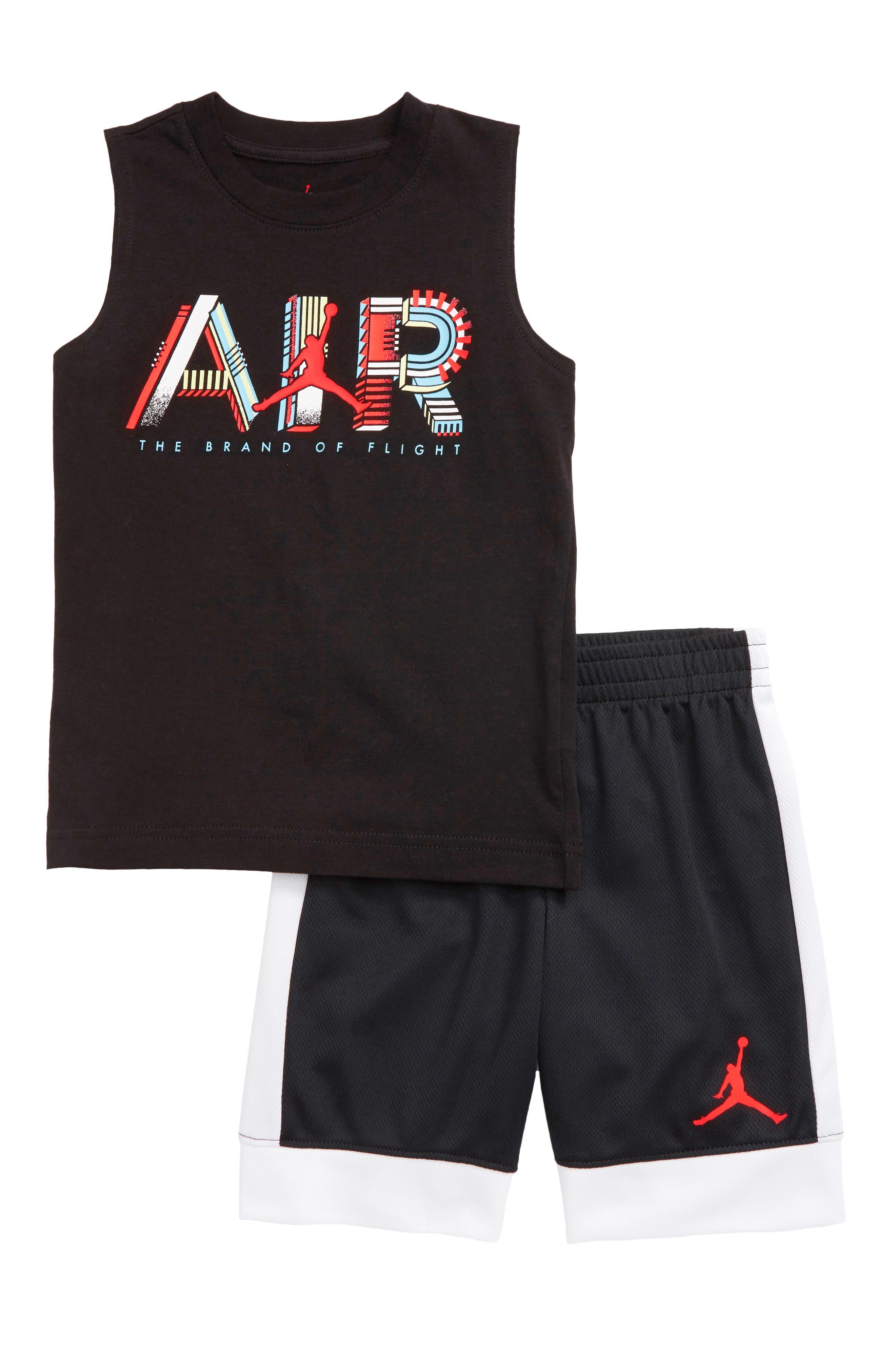 Boys' Jordan Clothes (Sizes 2T-7): T