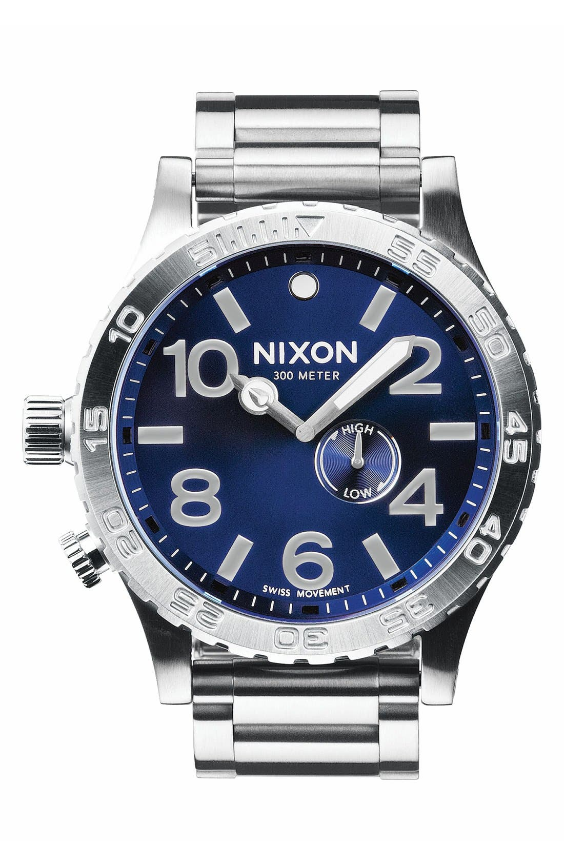 Alternate Image 1 Selected - Nixon 'The 51-30' Bracelet Watch