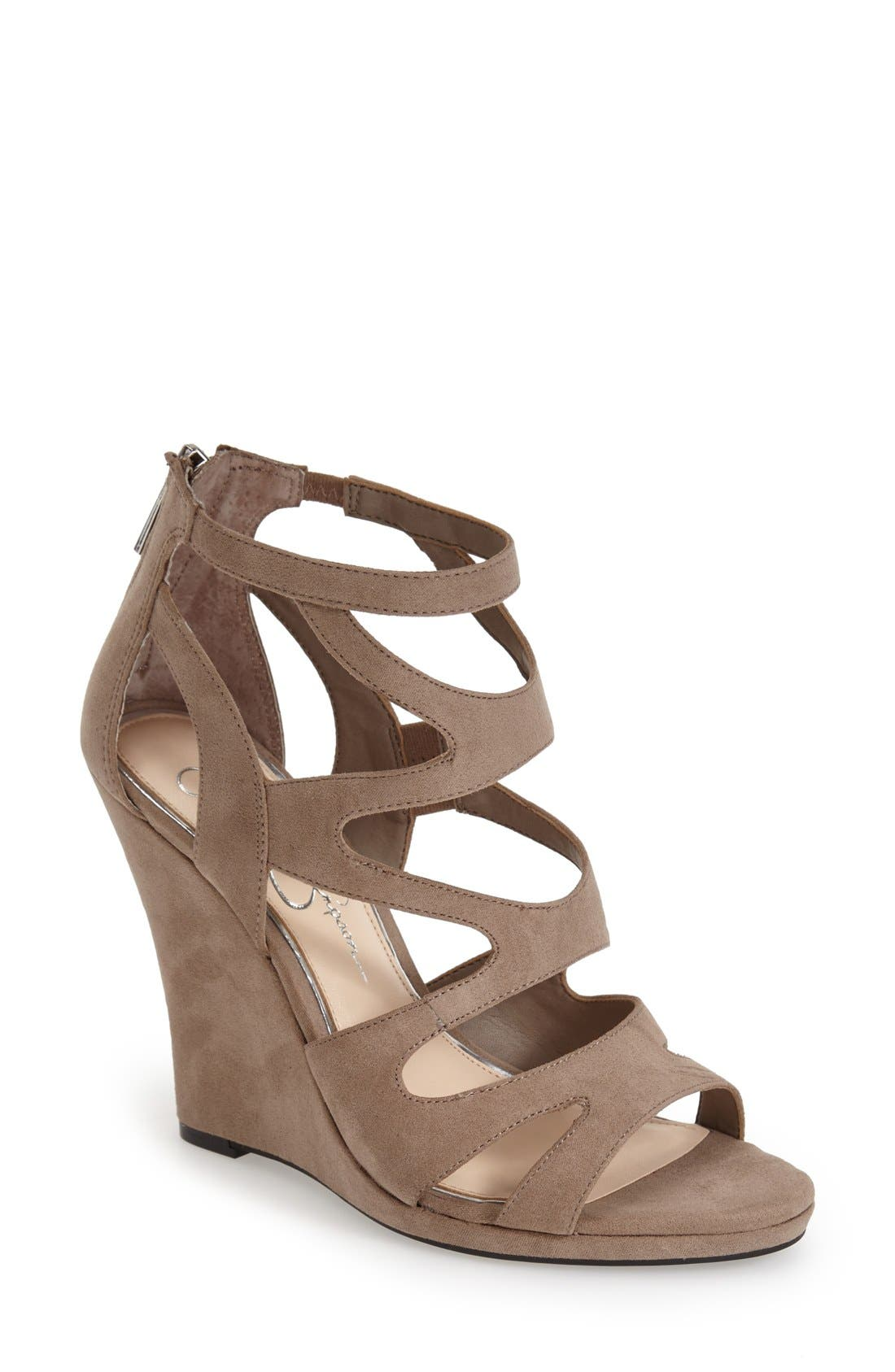 Alternate Image 1 Selected - Jessica Simpson 'Delina' Sandal (Women)