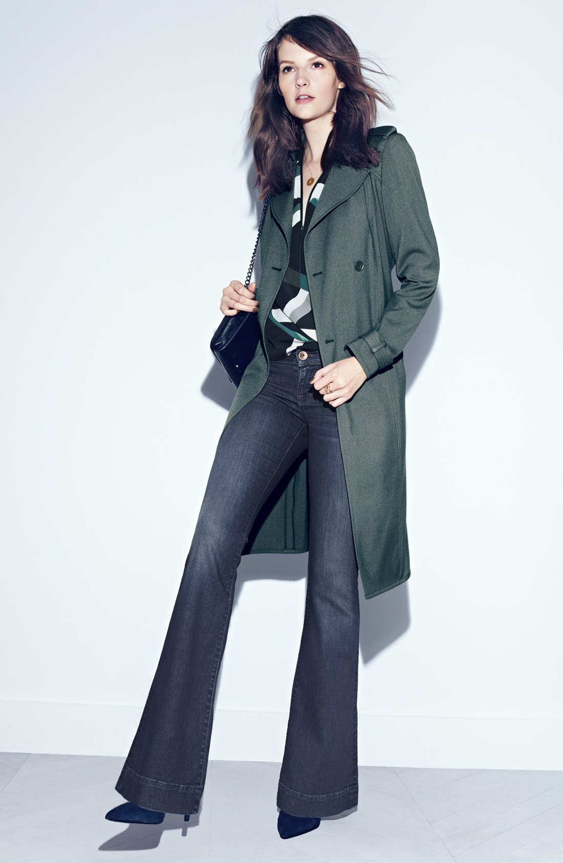 Alternate Image 3  - Trouvé Belted Trench Coat