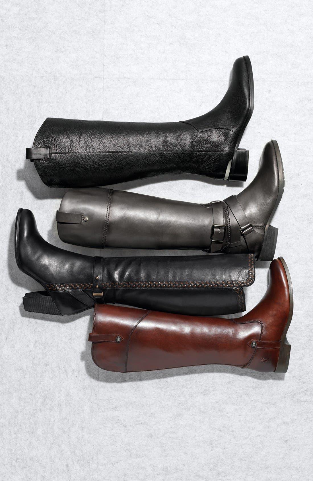 'Melissa Tab' Knee High Boot,                             Alternate thumbnail 6, color,