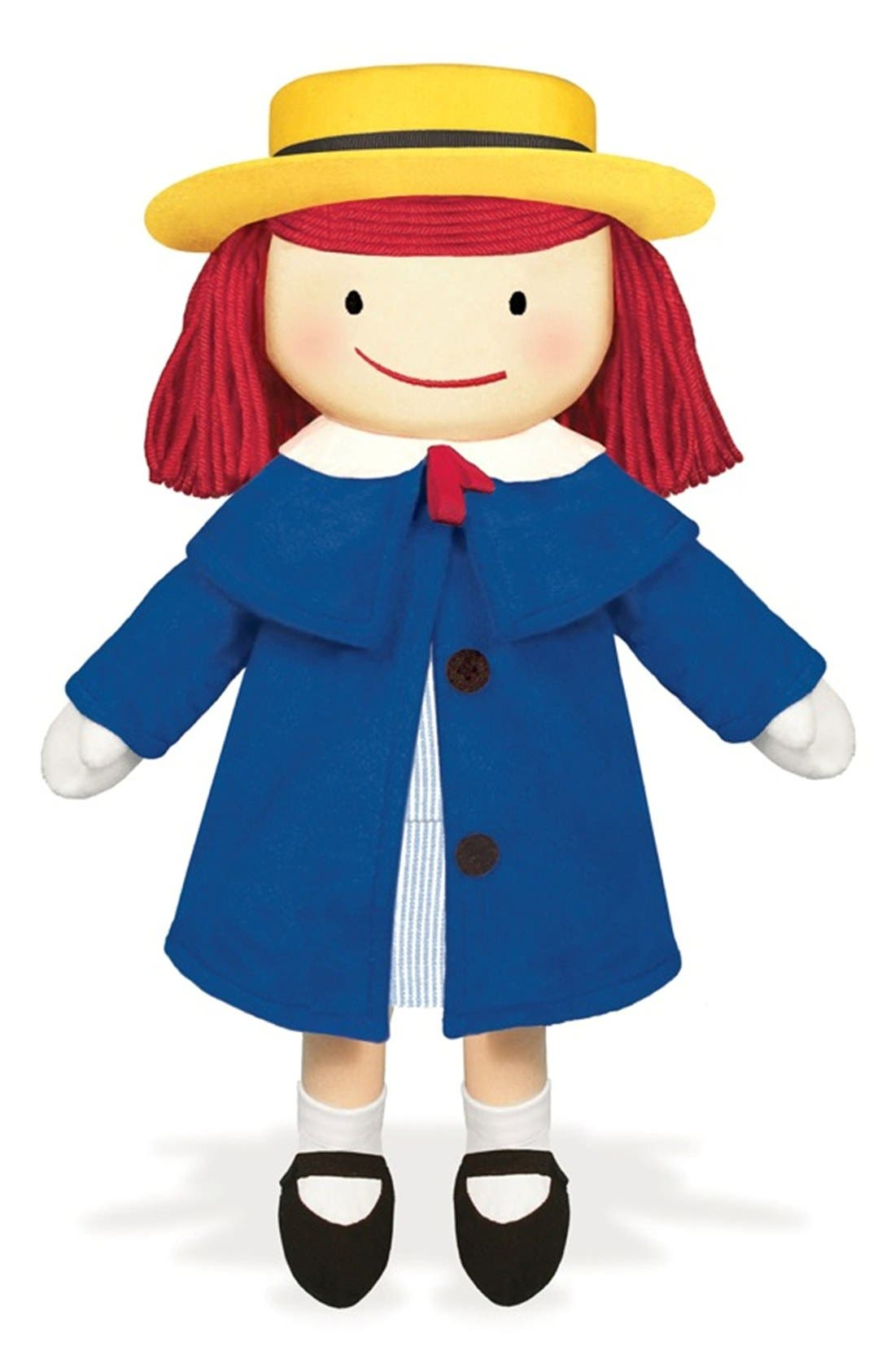 Madeline<sup>™</sup> Stuffed Doll,                         Main,                         color, Blue/ Yellow/ Red