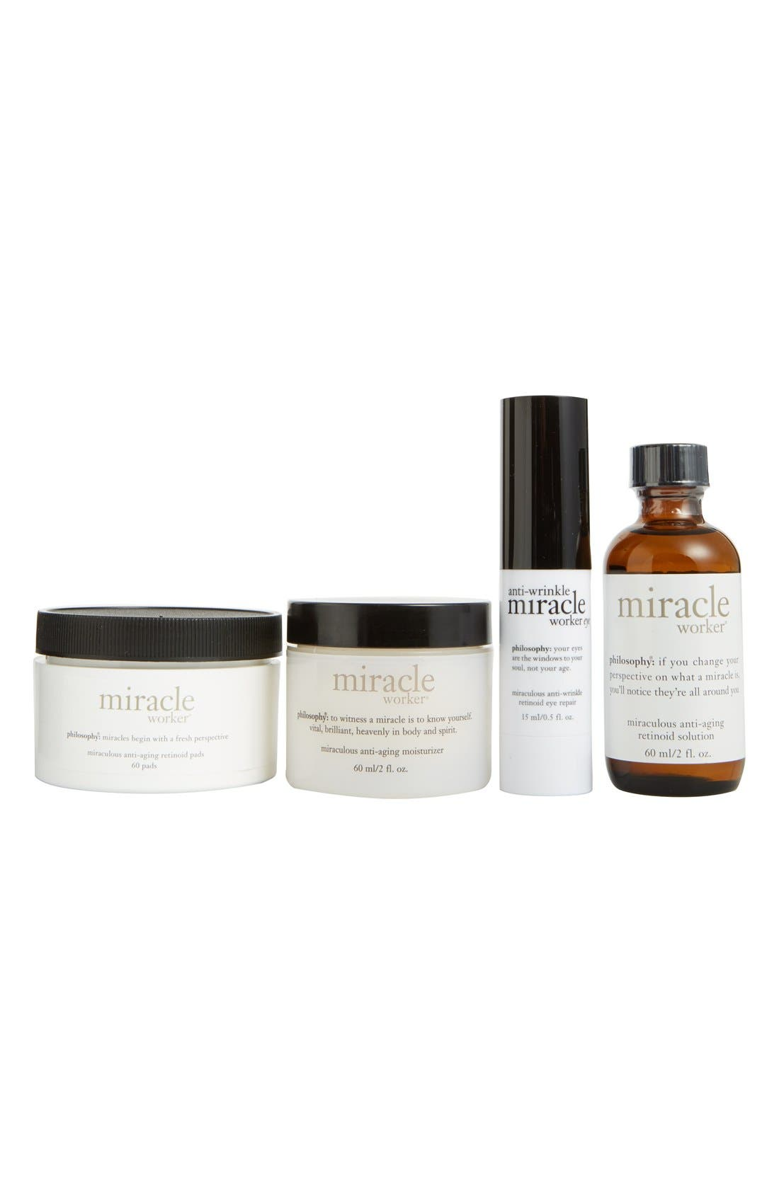 philosophy 'anti-wrinkle miracle worker' award-winning miraculous collection ($200 Value)