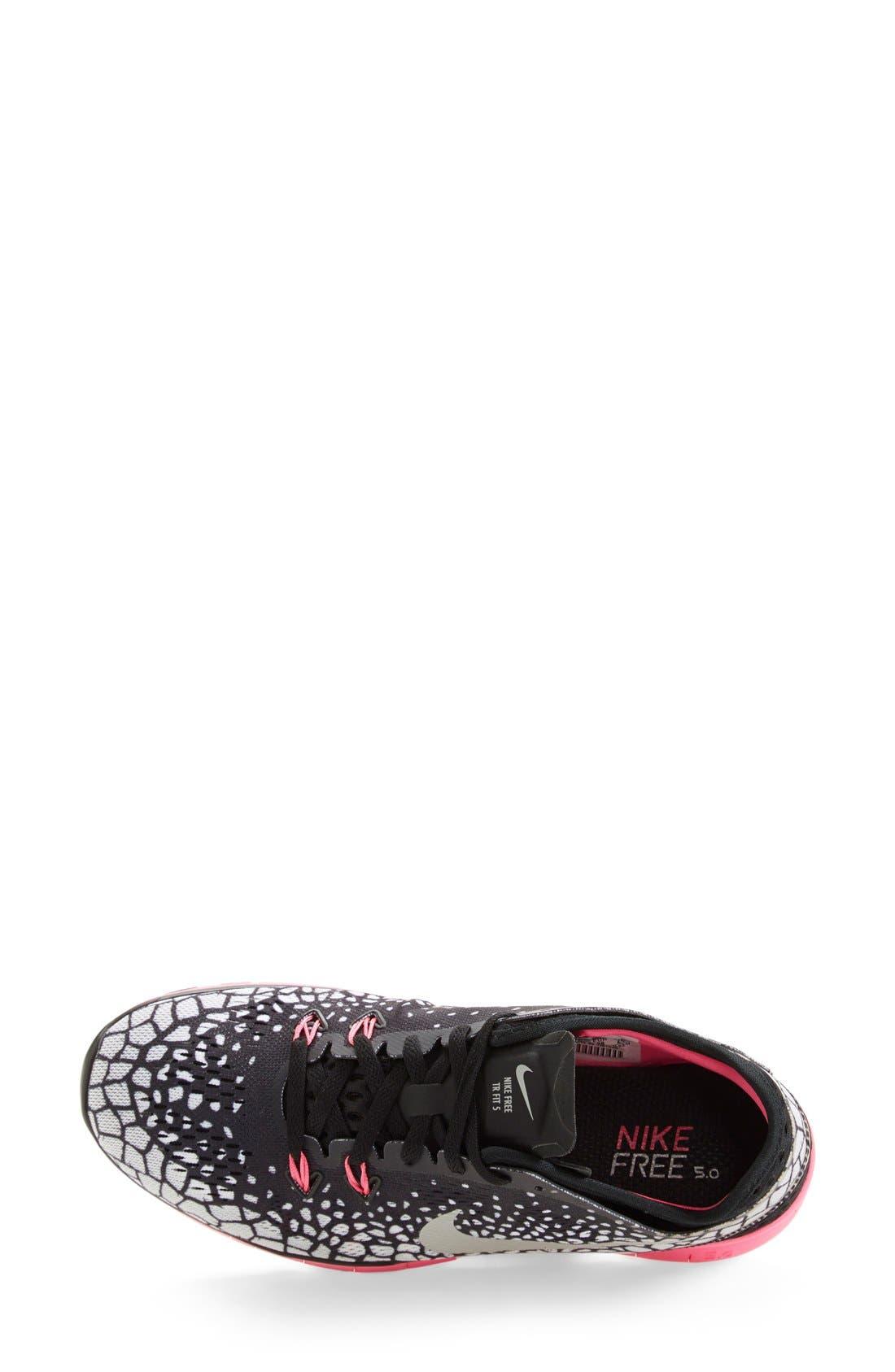 Alternate Image 3  - Nike 'Free 5.0 TR Fit 5 Print' Training Shoe (Women)