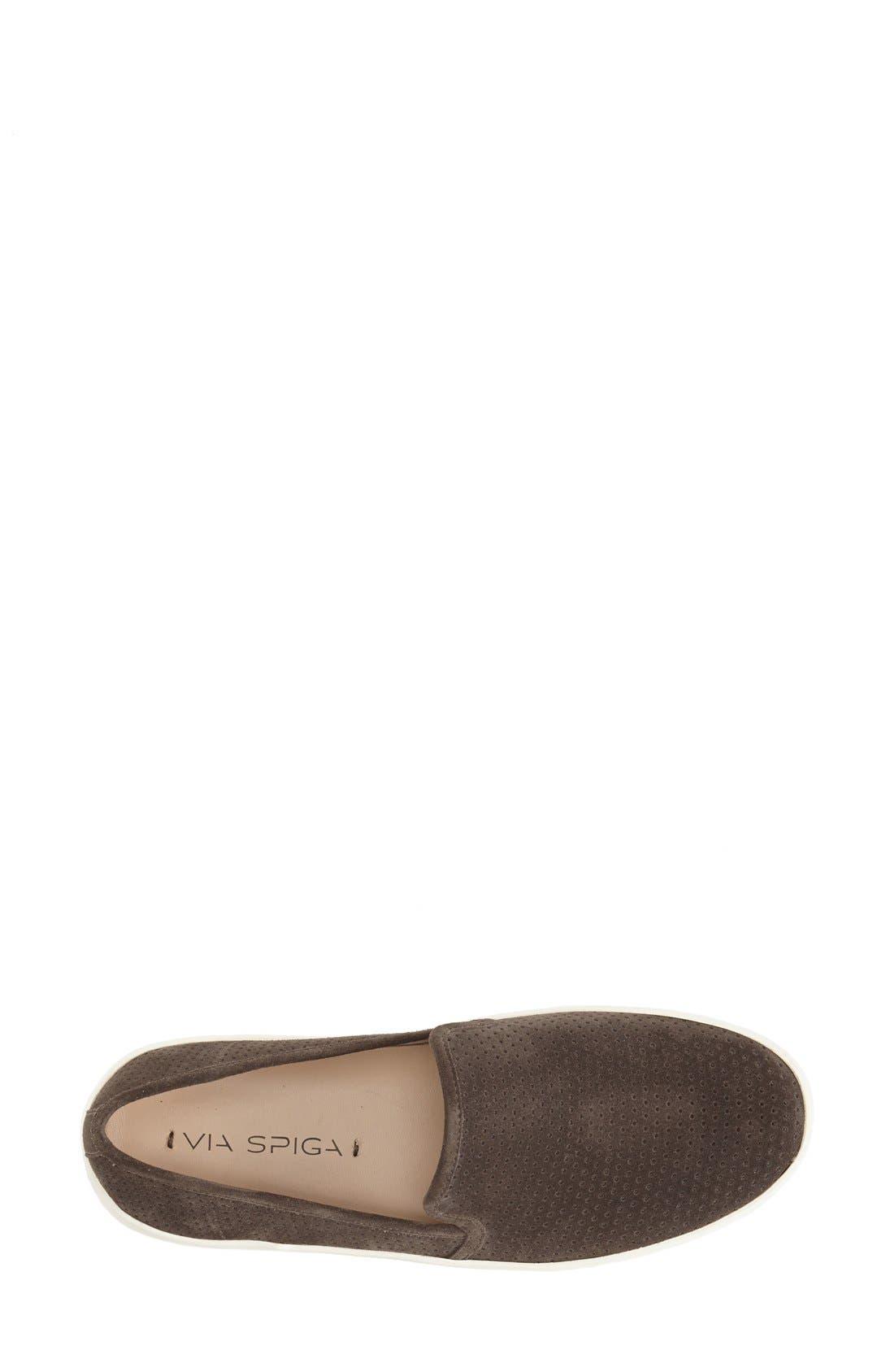 Alternate Image 3  - Via Spiga 'Galea' Leather Slip-On Sneaker (Women)