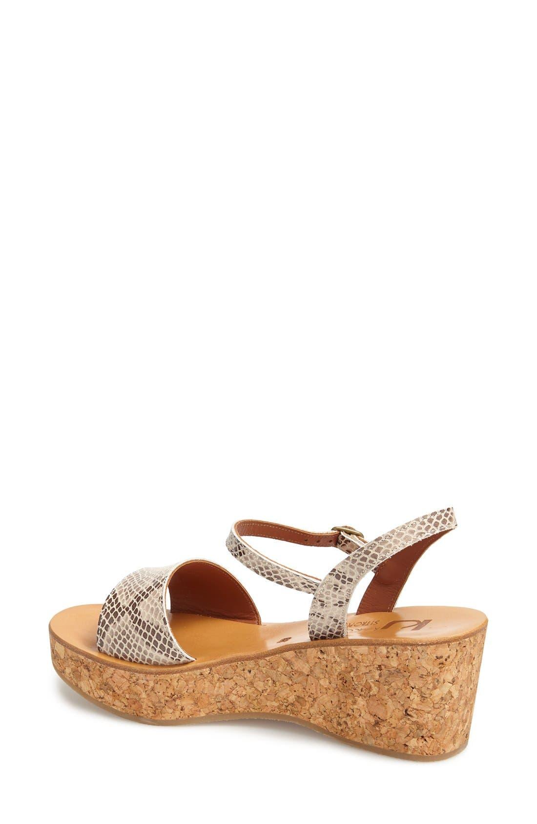 Alternate Image 2  - K.Jacques St. Tropez 'Josy' Ankle Strap Wedge Sandal (Women)