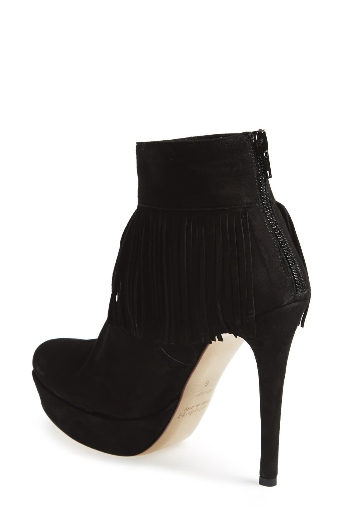 Alternate Image 2  - Charles David 'Lula' Platform Fringe Bootie (Women)