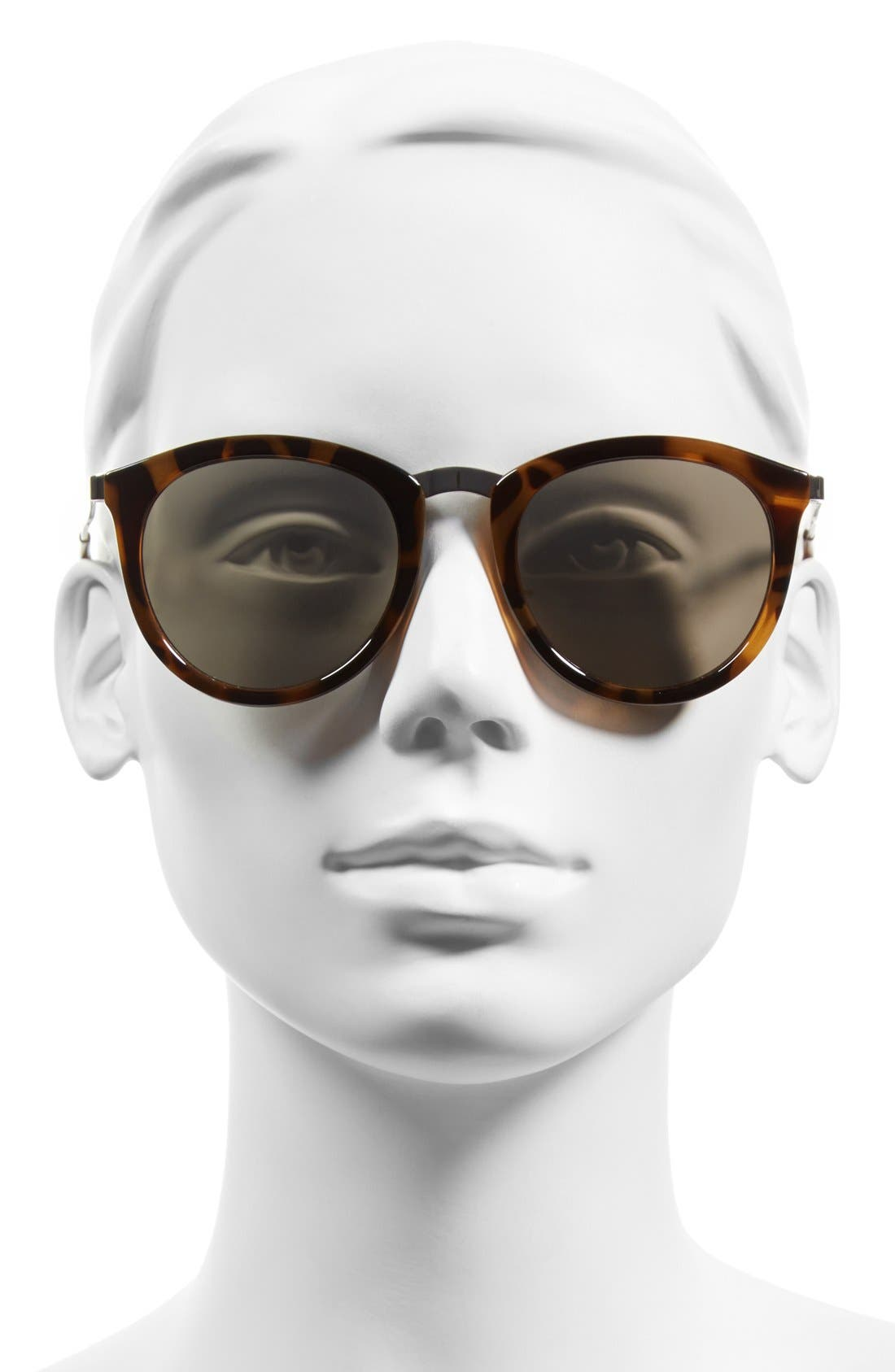 Alternate Image 2  - Le Specs 'No Smirking' 50mm Round Sunglasses