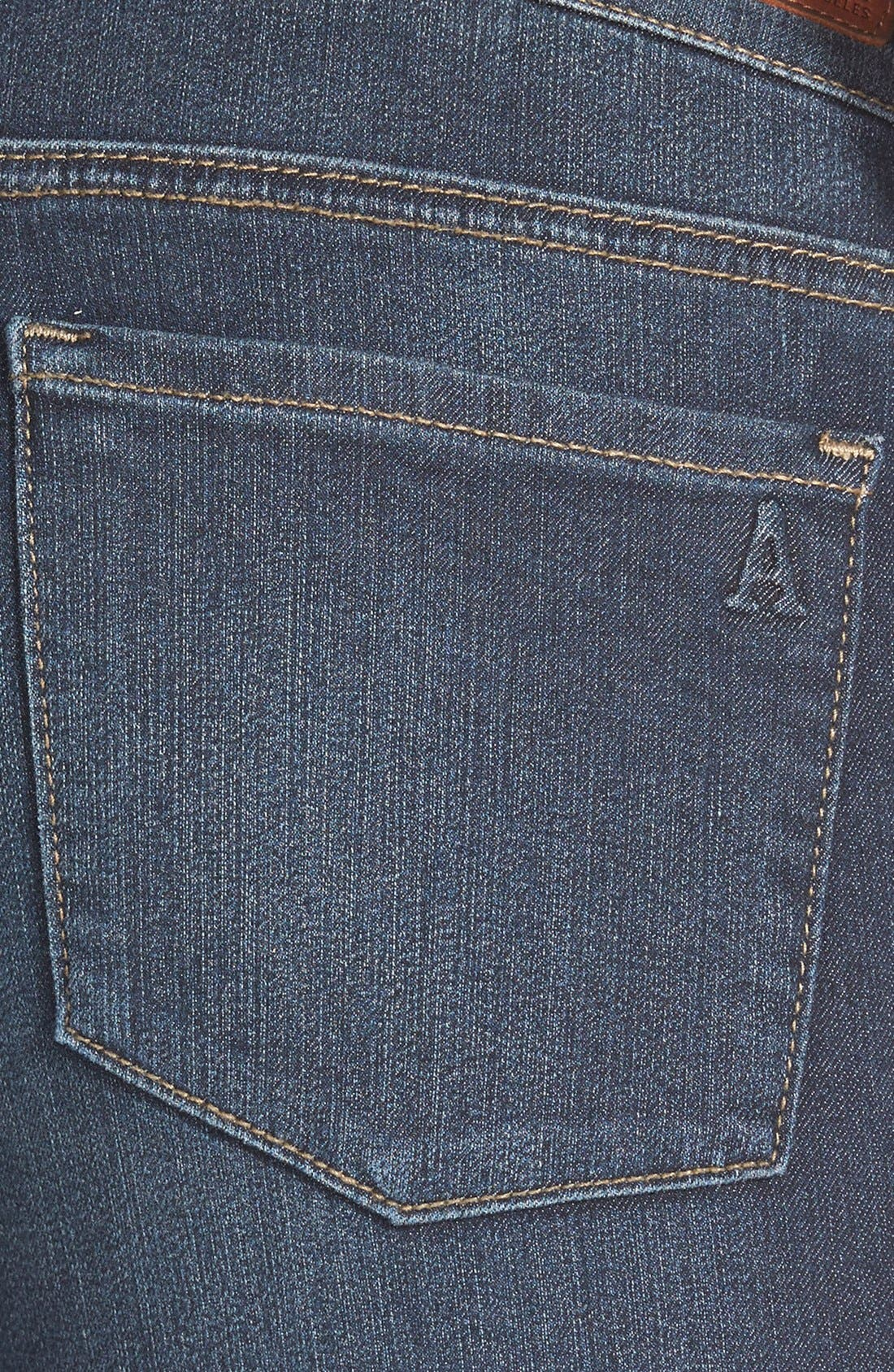 Alternate Image 4  - Articles of Society 'Sarah' Skinny Jeans (Blue Moon)