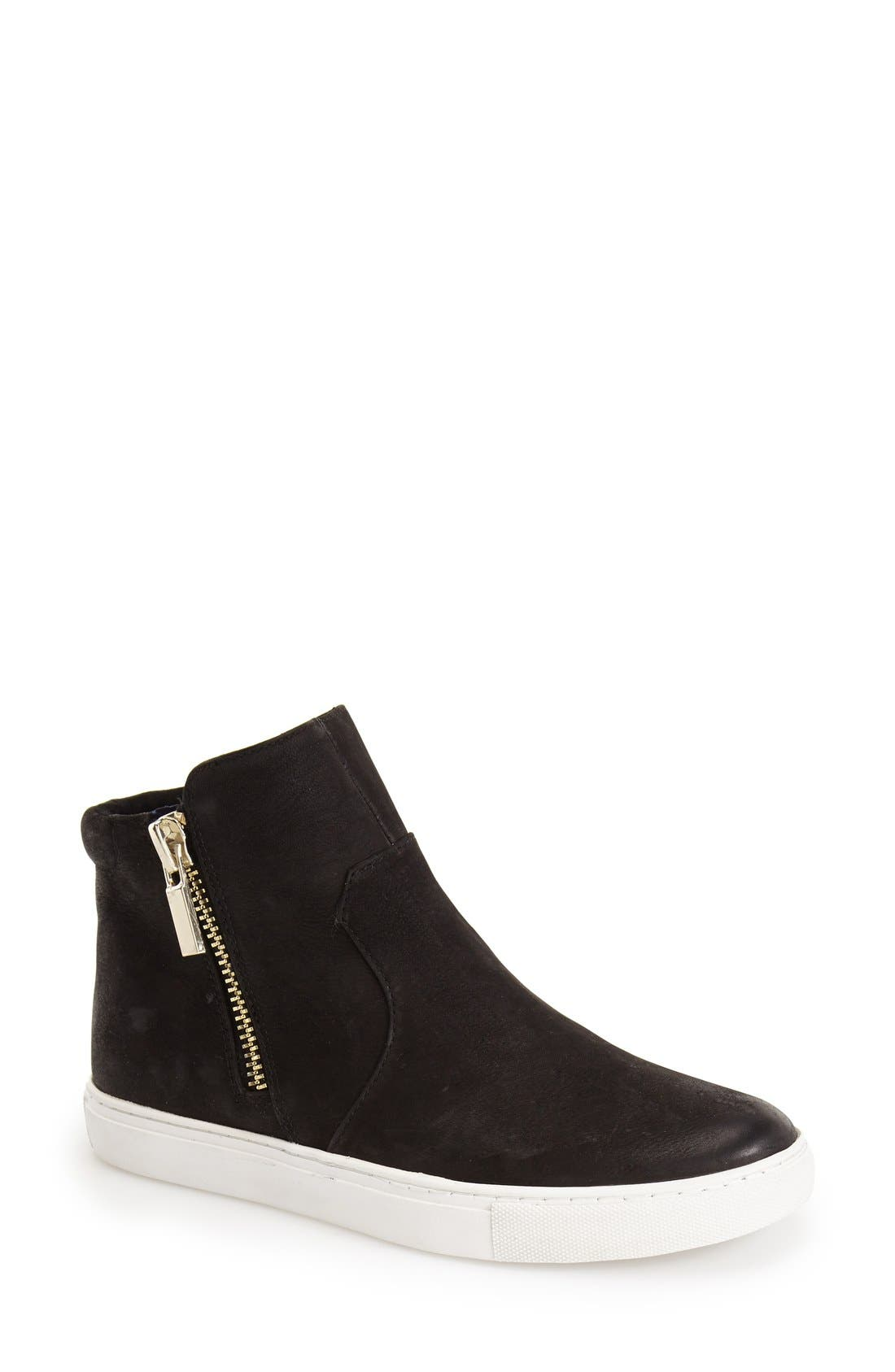 Main Image - Kenneth Cole New York 'Kiera' Zip High Top Sneaker (Women