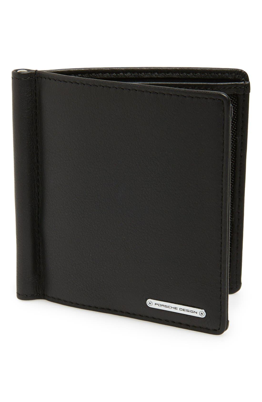 'CL2 2.0' Money Clip Card Holder,                             Main thumbnail 1, color,                             Black