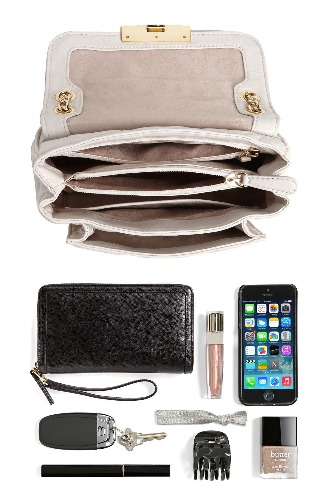 Alternate Image 5  - MICHAEL Michael Kors 'Sloan - Small' Quilted Shoulder Bag