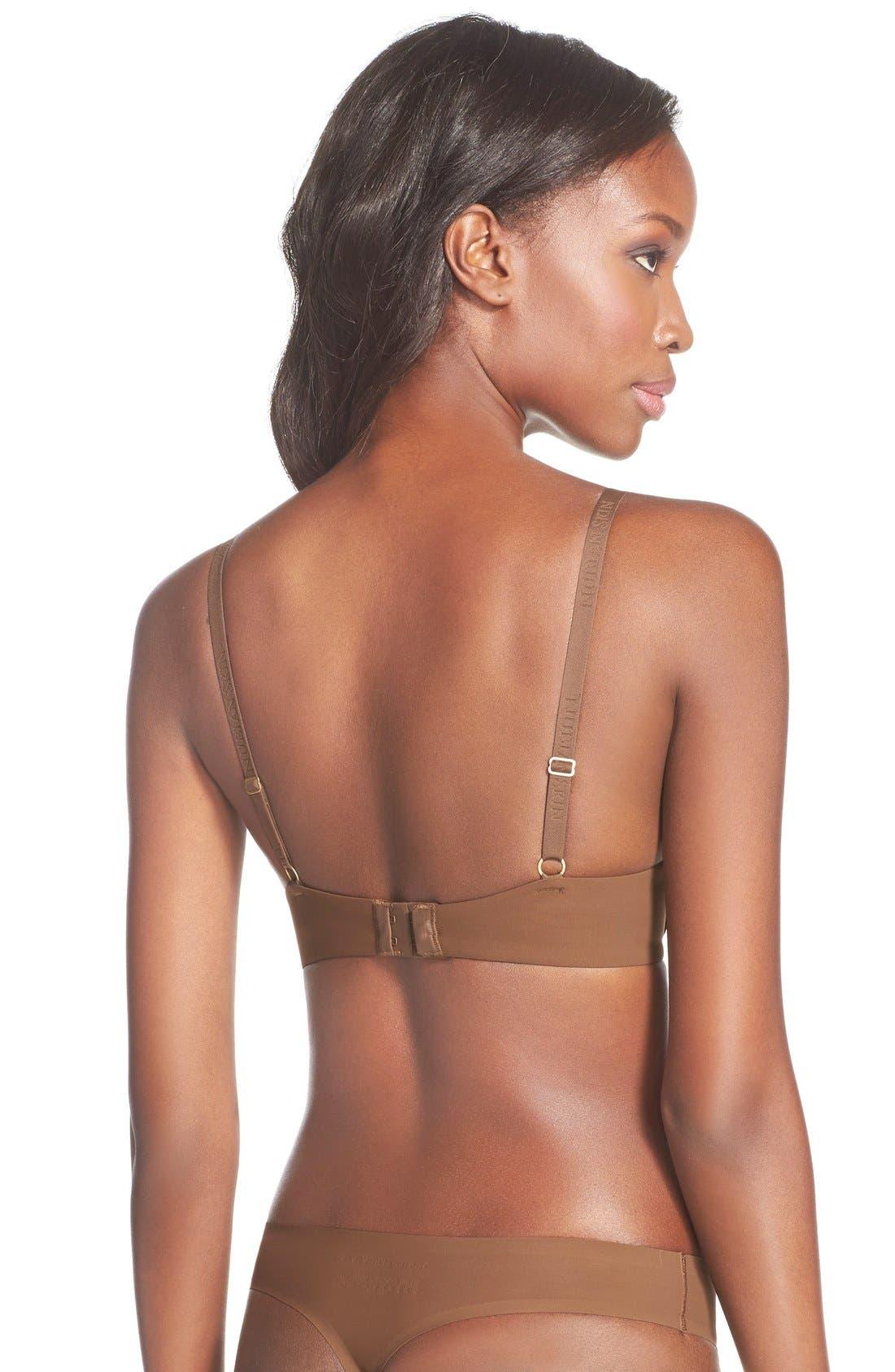 Alternate Image 4  - Nubian Skin 'The Thong' Seamless Thong