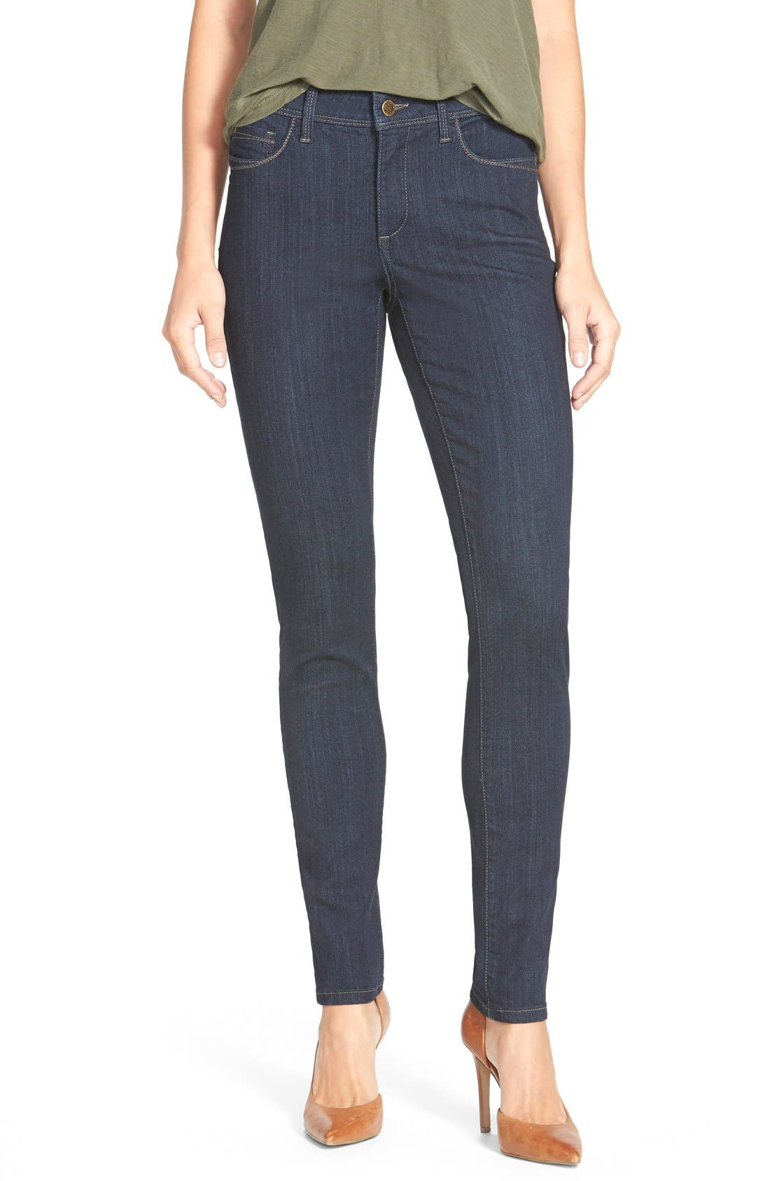 Alternate Image 1 Selected - NYDJ 'Ami' Stretch Skinny Jeans (Regular & Petite)