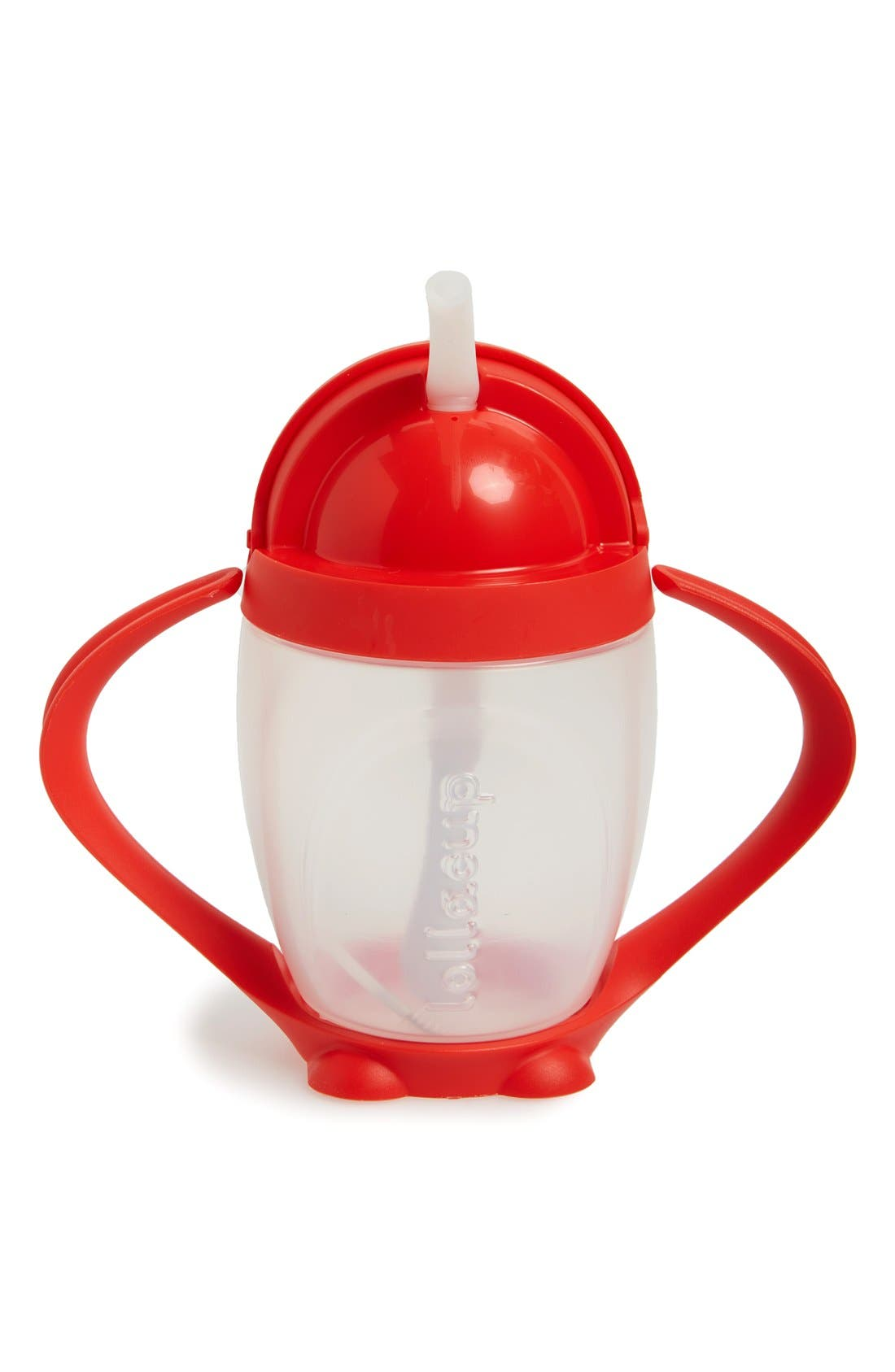 'Lollacup' Sippy Cup,                             Alternate thumbnail 2, color,                             Bold Red