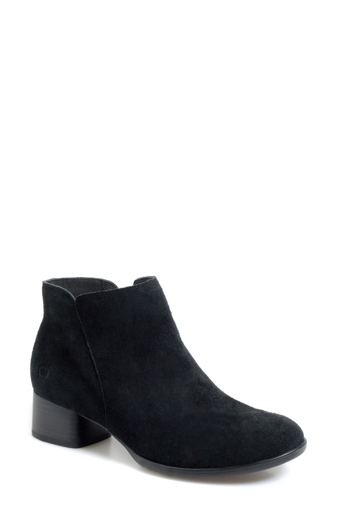 Alternate Image 1 Selected - Børn 'Holman' Round Toe Bootie (Women)