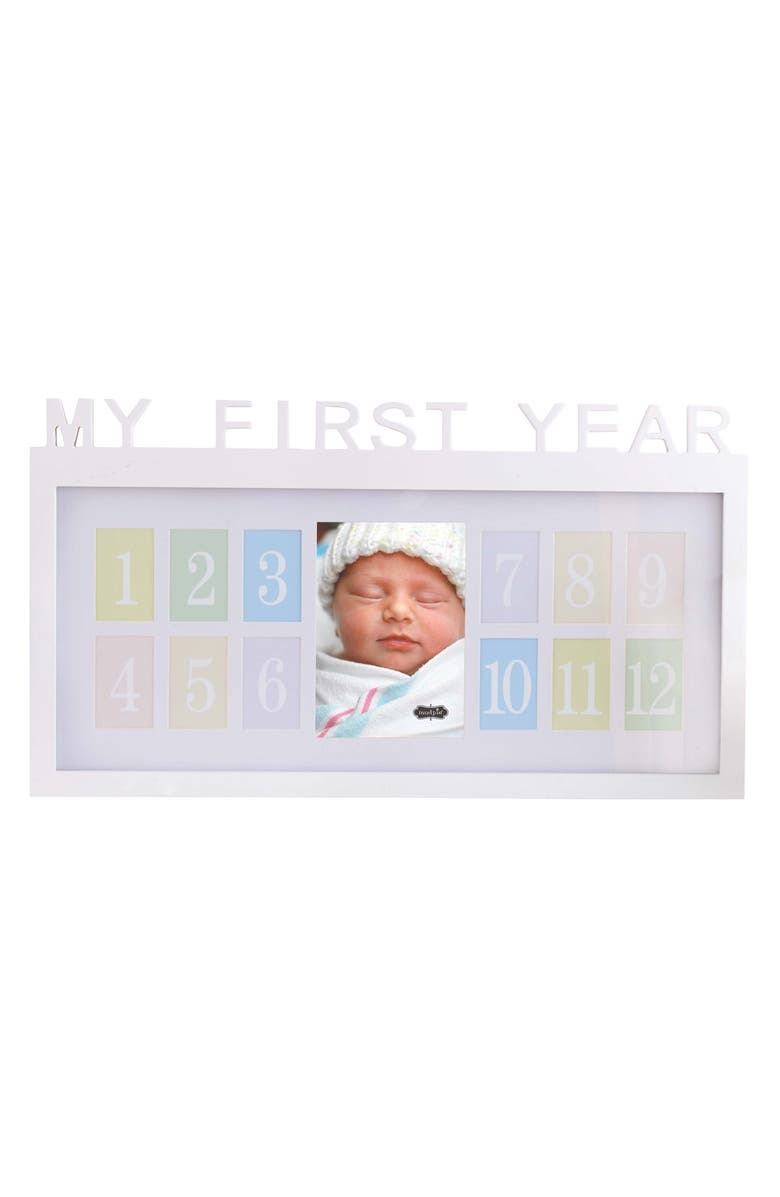 Mud Pie \'My First Year\' Wood Picture Frame | Nordstrom
