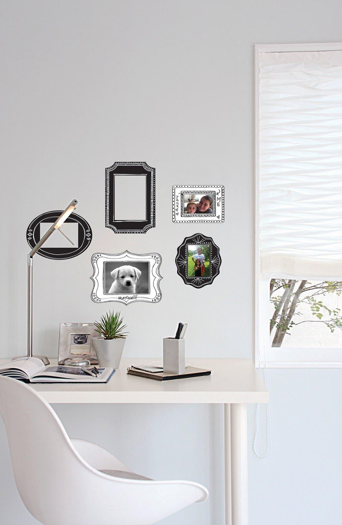 Alternate Image 2  - Wallpops 'Sketch It' Wall Decal Frames (Set of 5)