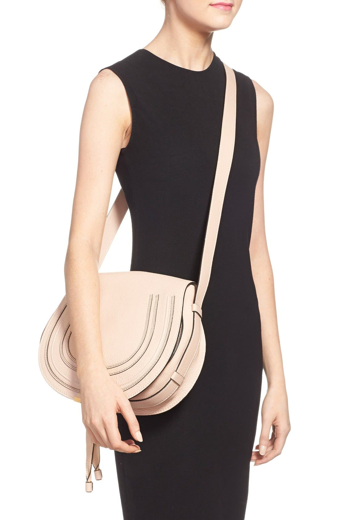 Alternate Image 2  - Chloé 'Marcie - Medium' Leather Crossbody Bag