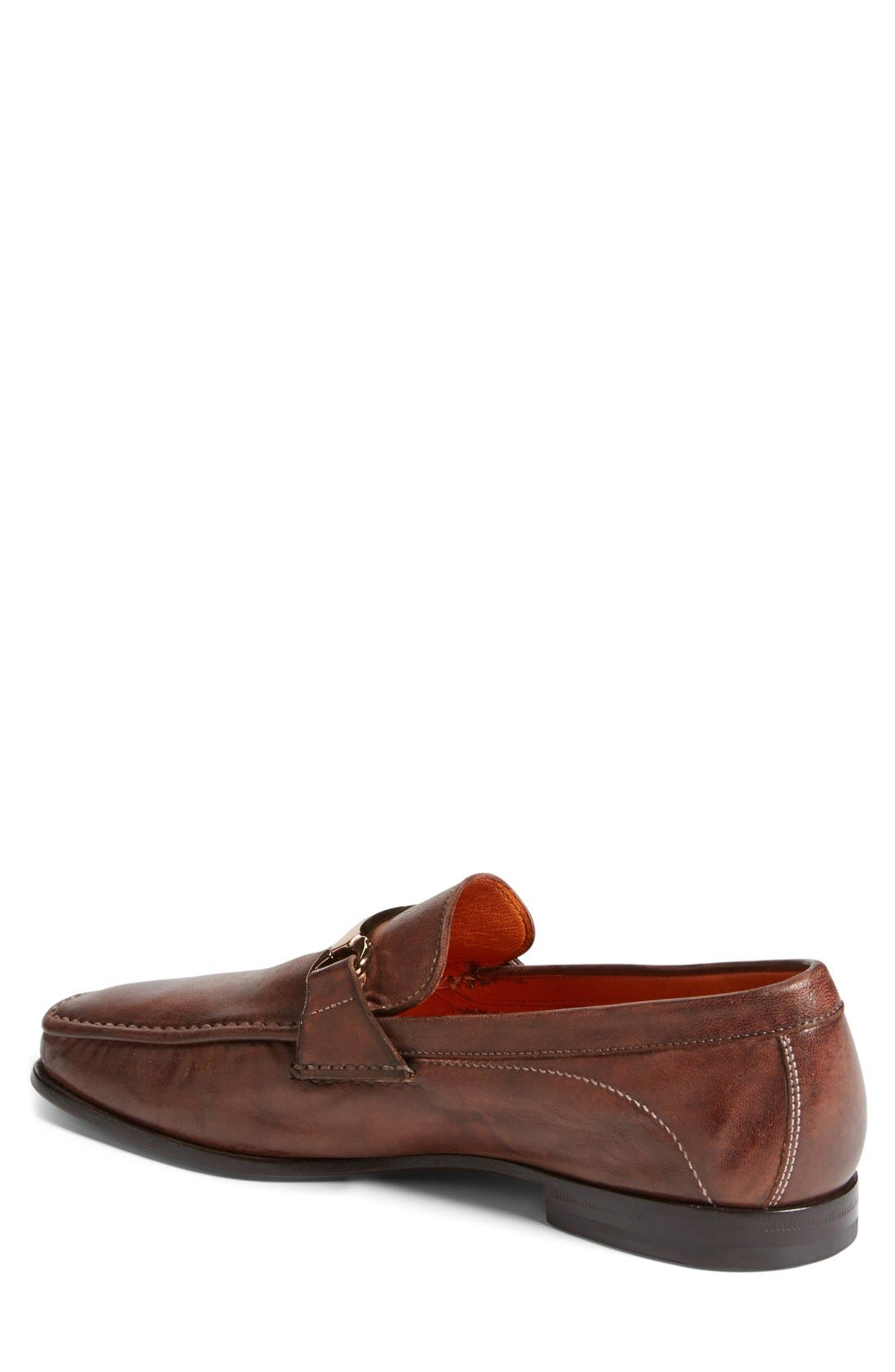 Alternate Image 2  - Santoni 'Wake' Bit Loafer (Men)