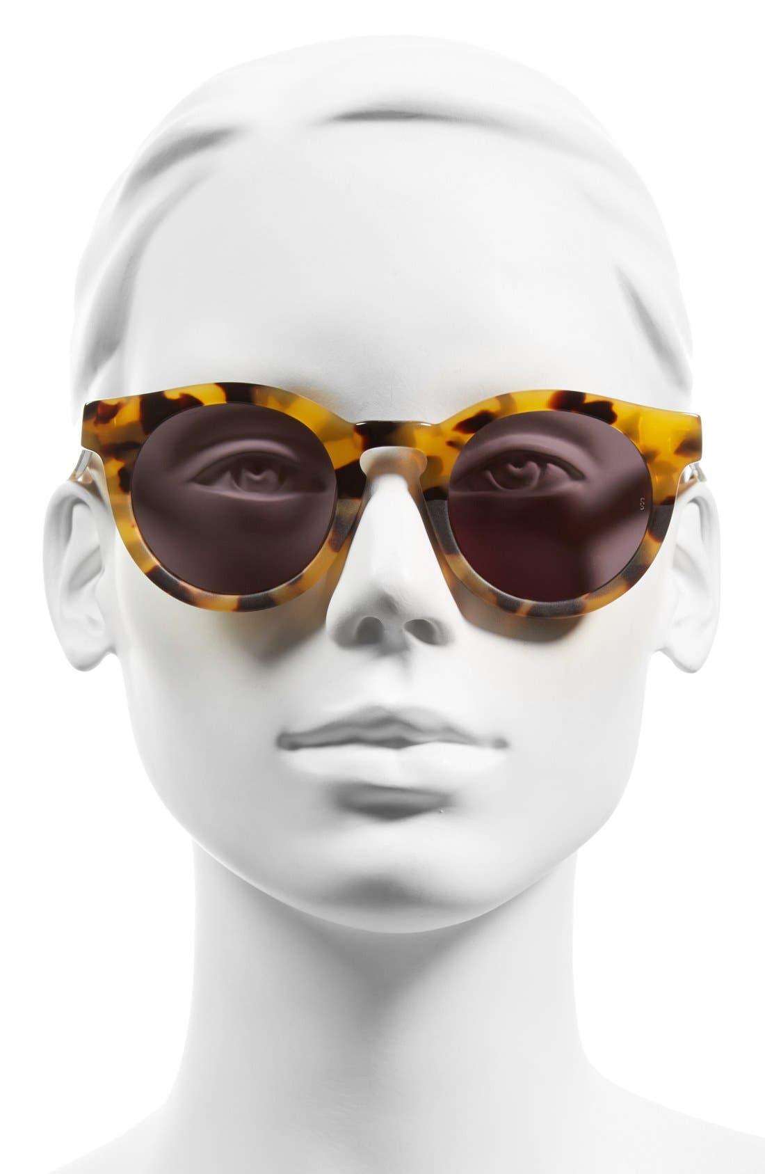 Alternate Image 2  - SUNDAY SOMEWHERE 'Soelae' 46mm Round Sunglasses