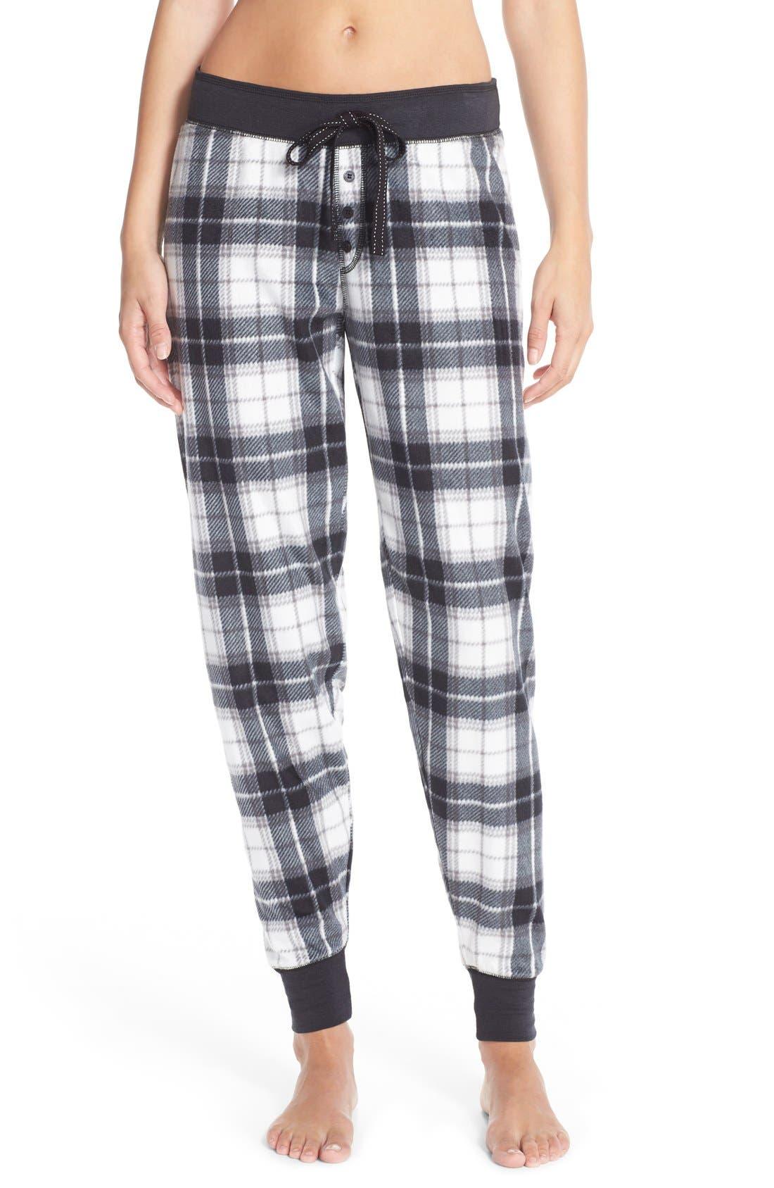 PJ Salvage Fleece Lounge Pants   Nordstrom