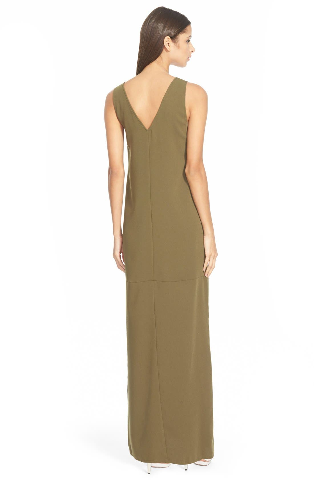 Alternate Image 2  - Leith V-Neck Maxi Dress