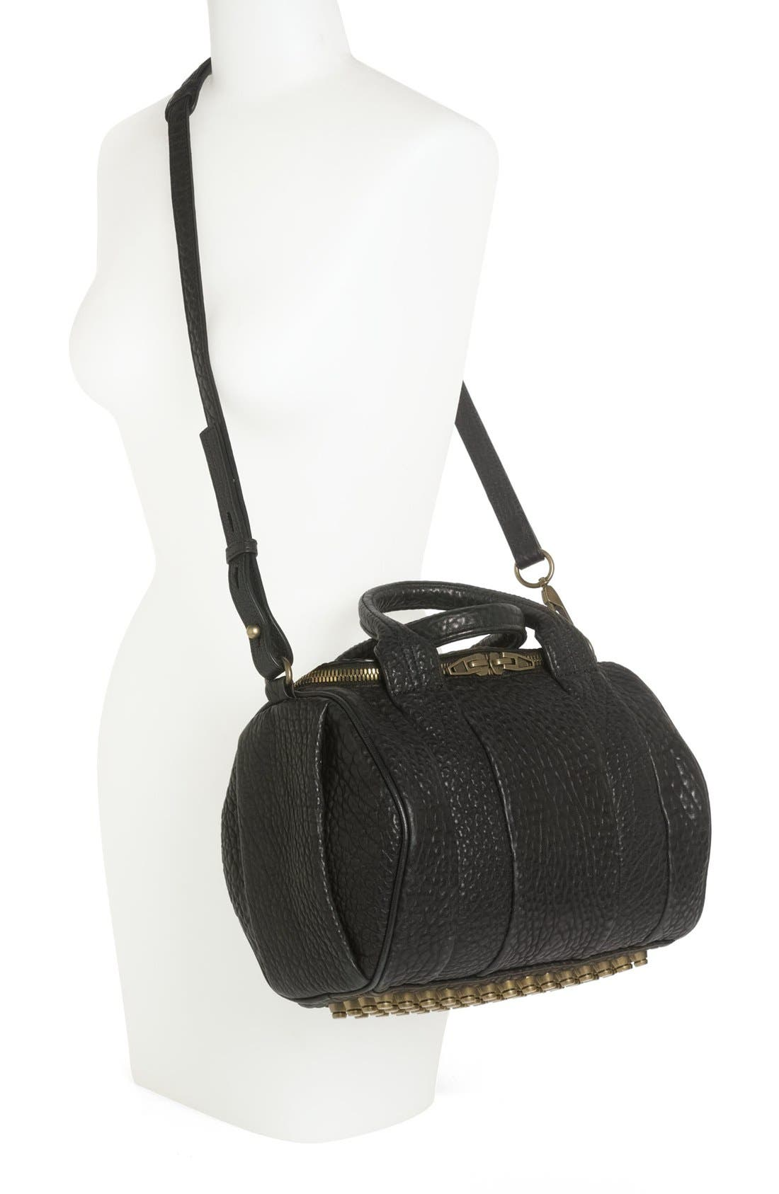 Alternate Image 2  - Alexander Wang 'Rockie - Antique Brass' Leather Crossbody Satchel