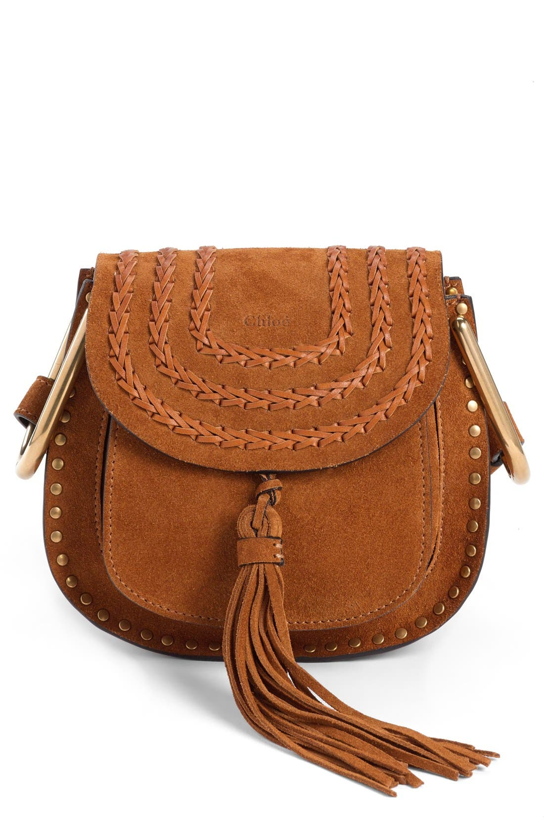 Main Image - Chloé 'Mini Hudson' Crossbody Bag