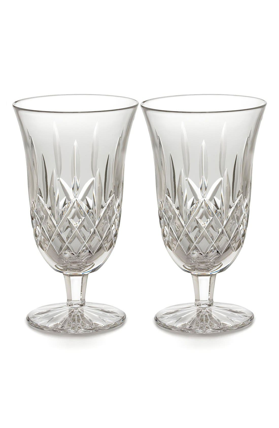 Alternate Image 1 Selected - Waterford 'Lismore' Lead Crystal Iced Beverage Glasses (Set of 2)