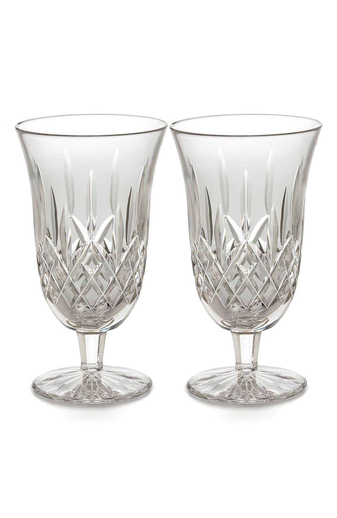Waterford 'Lismore' Lead Crystal Iced Beverage Glasses (Set of 2)