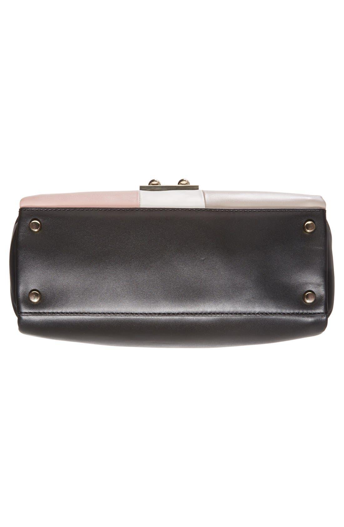 Alternate Image 6  - kate spade new york 'violet drive - kinslee' stripe leather satchel