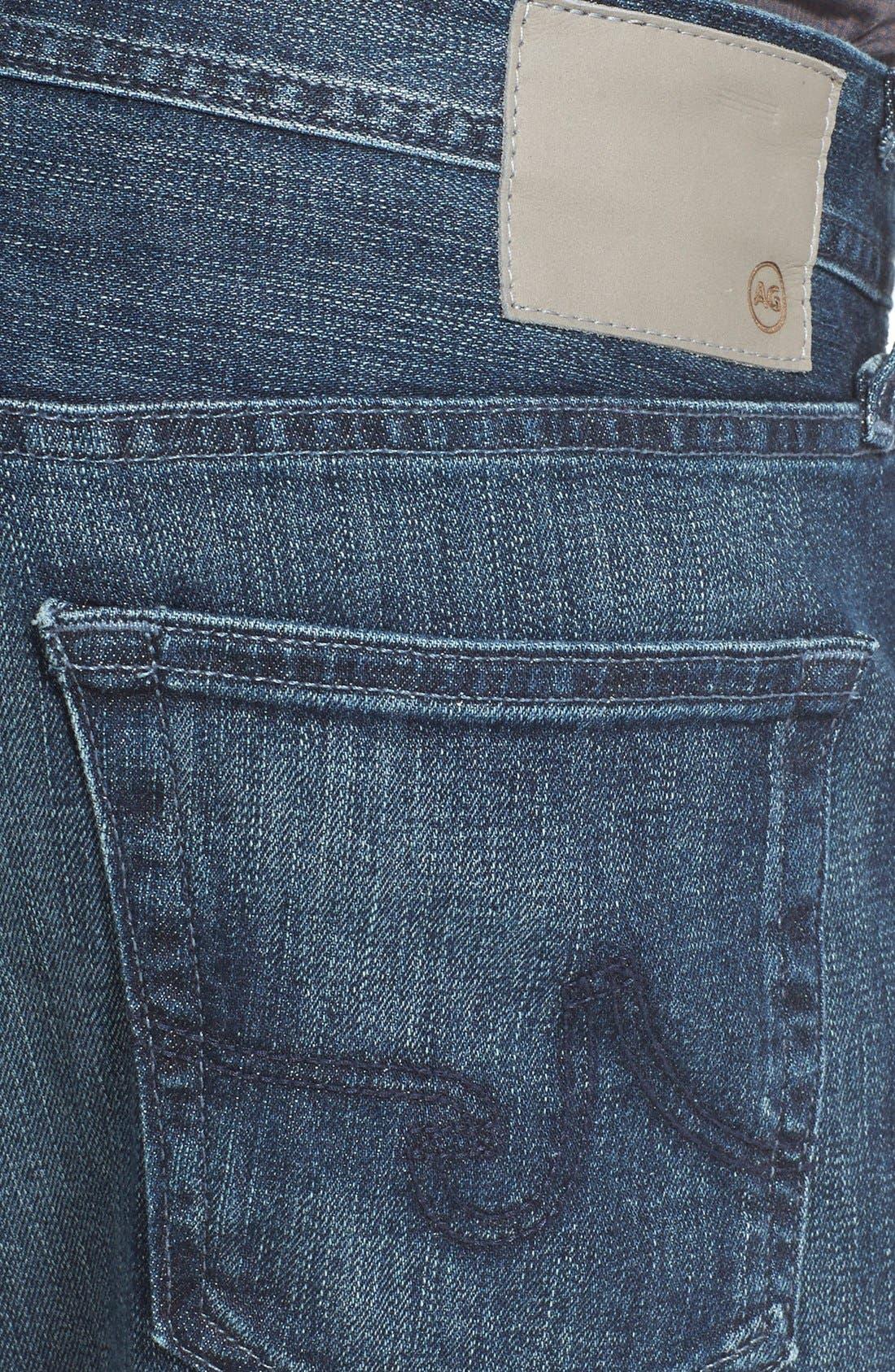 'Graduate' Slim Straight Leg Jeans,                             Alternate thumbnail 4, color,                             Stallow