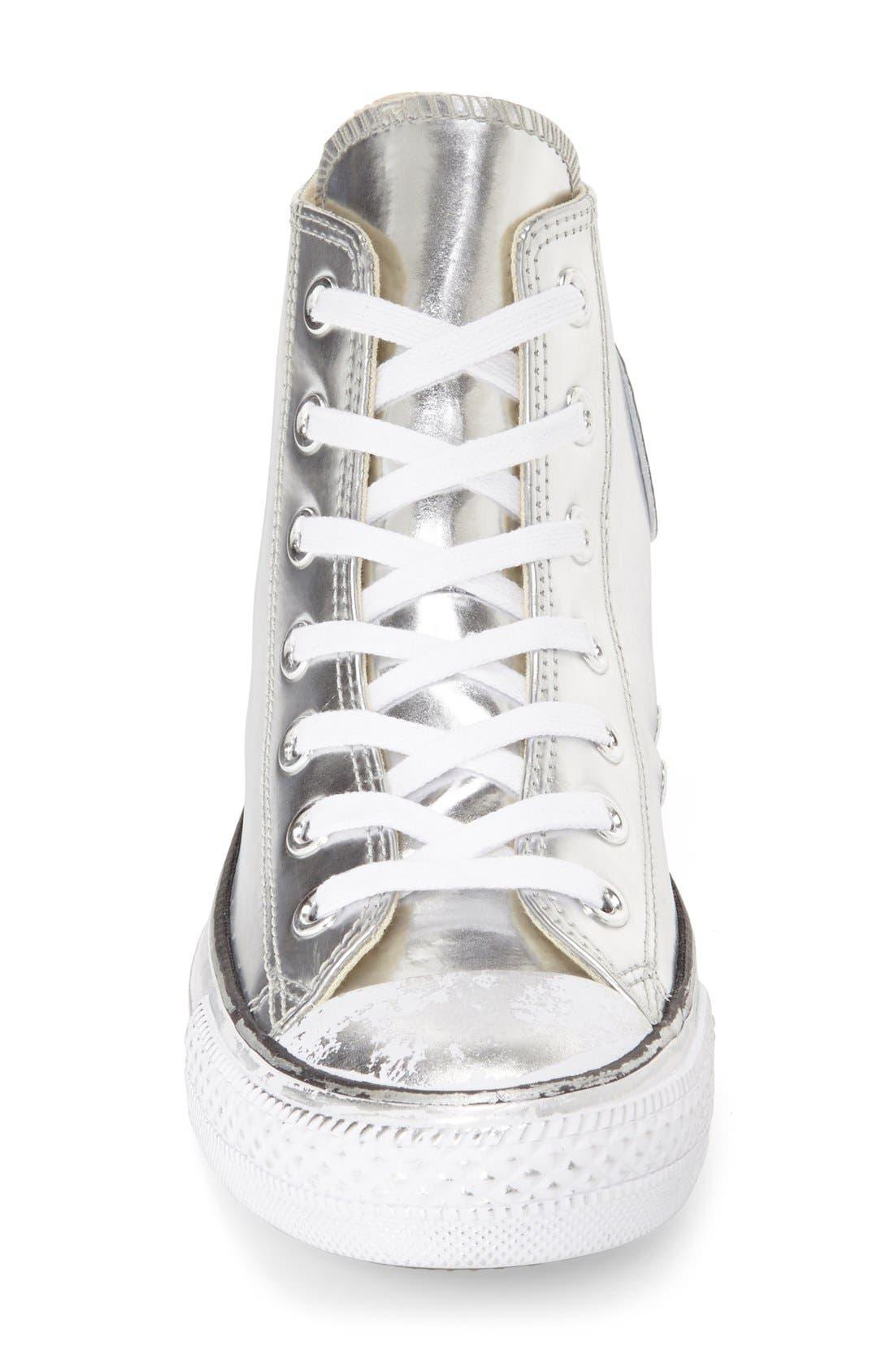 Alternate Image 3  - Converse Chuck Taylor® All Star® 'Metallic' High Top Sneaker (Women)