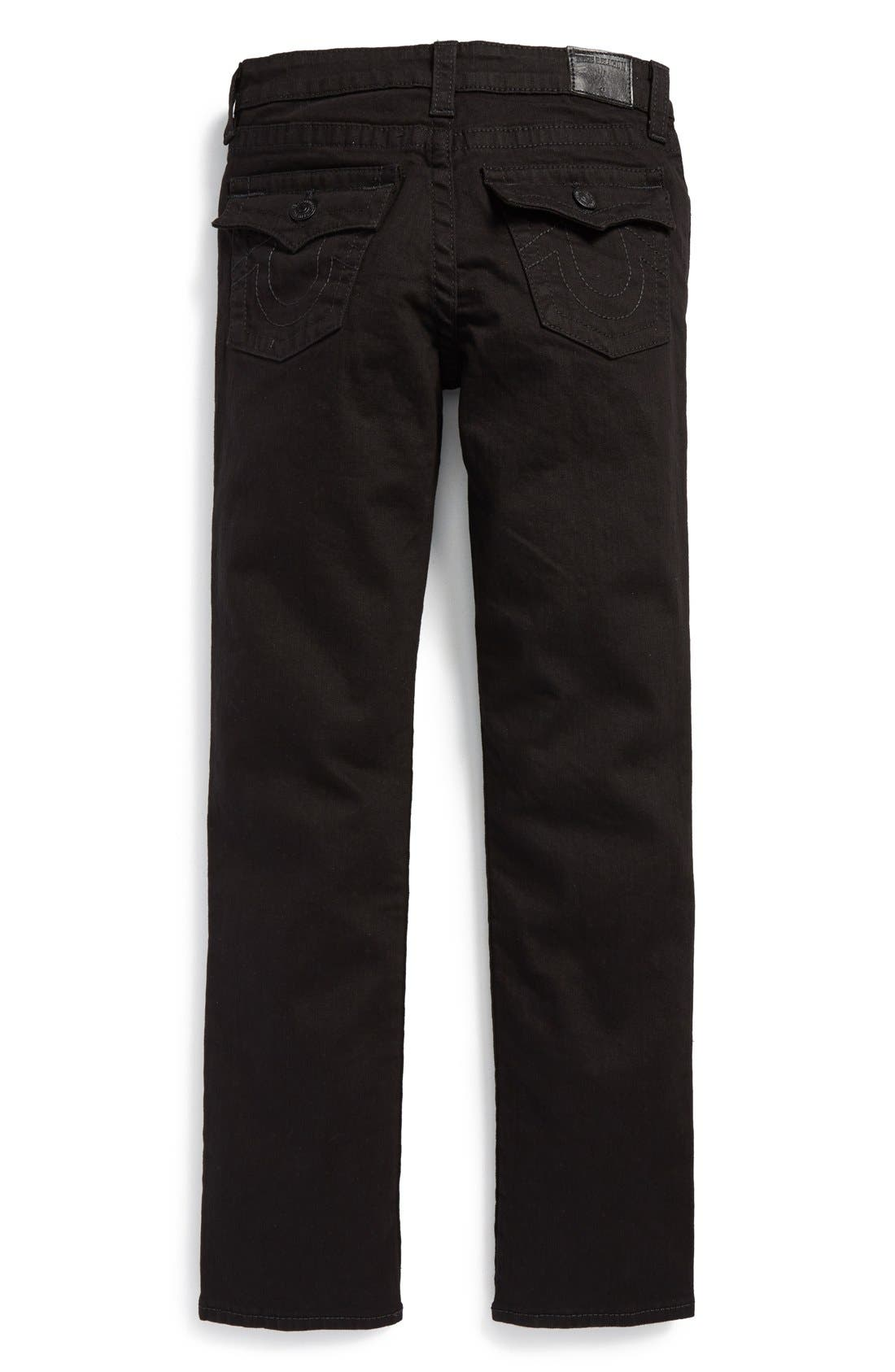 Alternate Image 2  - True Religion Brand Jeans 'Geno' Relaxed Slim Fit Jeans (Big Boys)