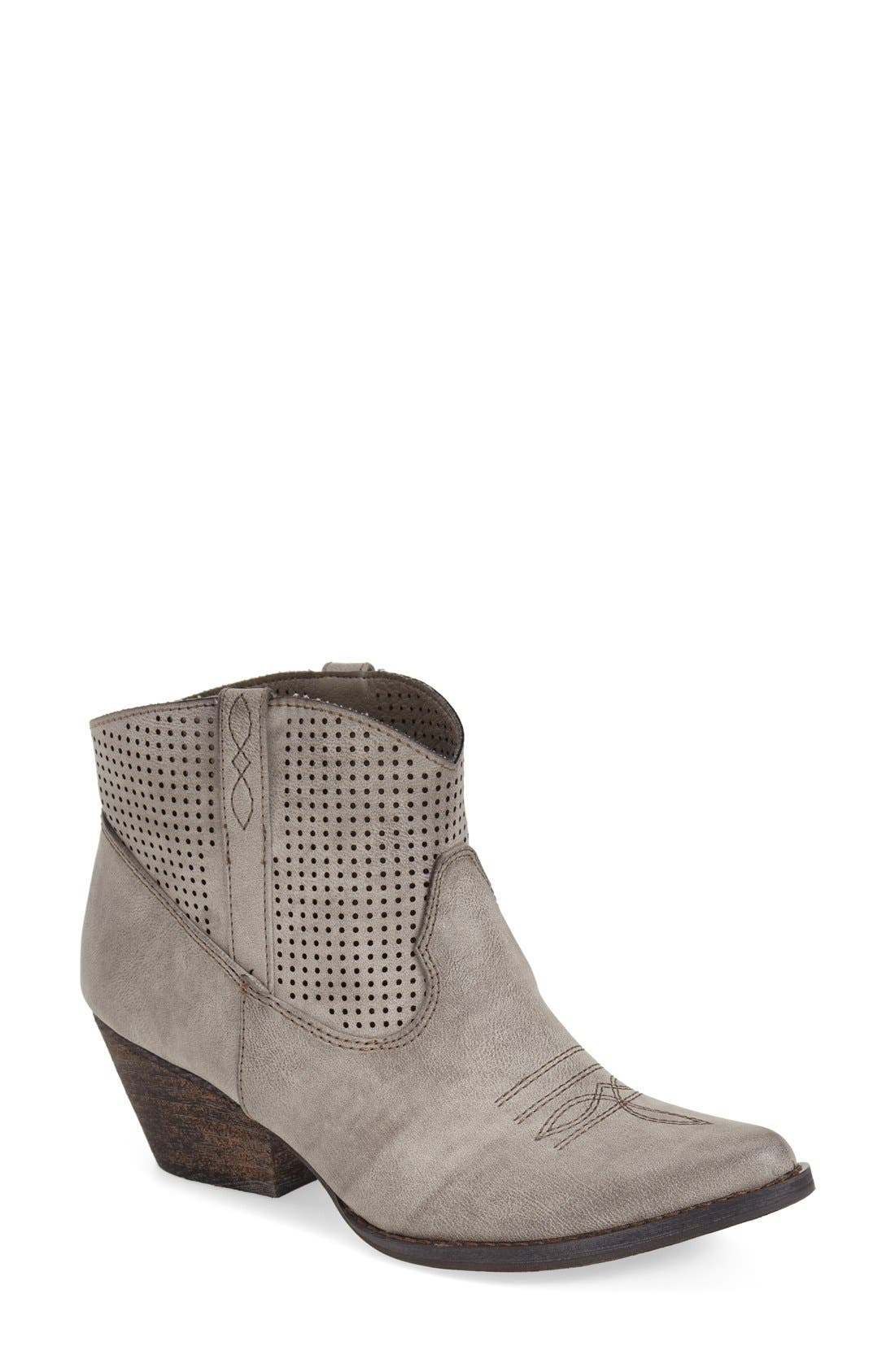 Main Image - Very Volatile 'Mishka' Perforated Western Bootie (Women)