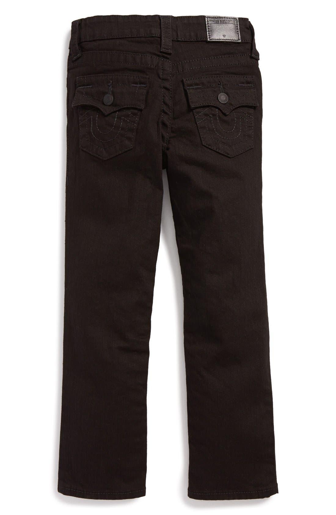 Alternate Image 2  - True Religion Brand Jeans 'Geno' Relaxed Slim Fit Jeans (Toddler Boys & Little Boys)