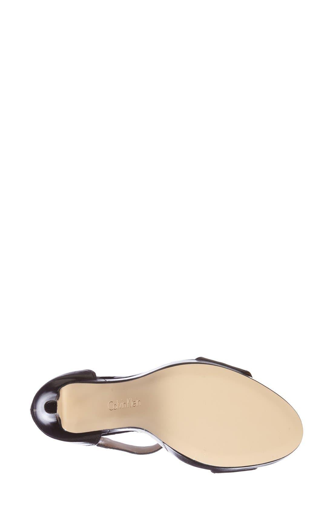 Alternate Image 4  - Calvin Klein 'Panthea' Ankle Strap Sandal (Women)